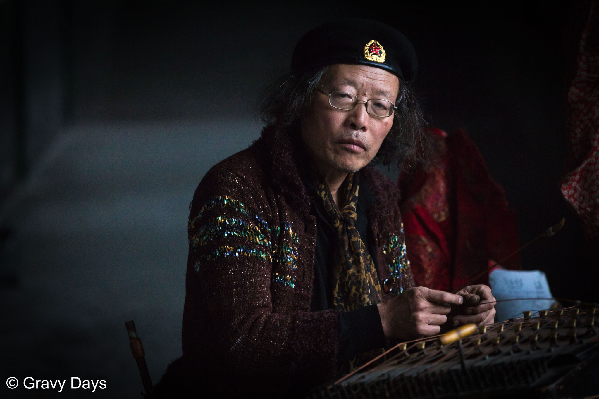 Lonely Musician, Beijing, China 2014