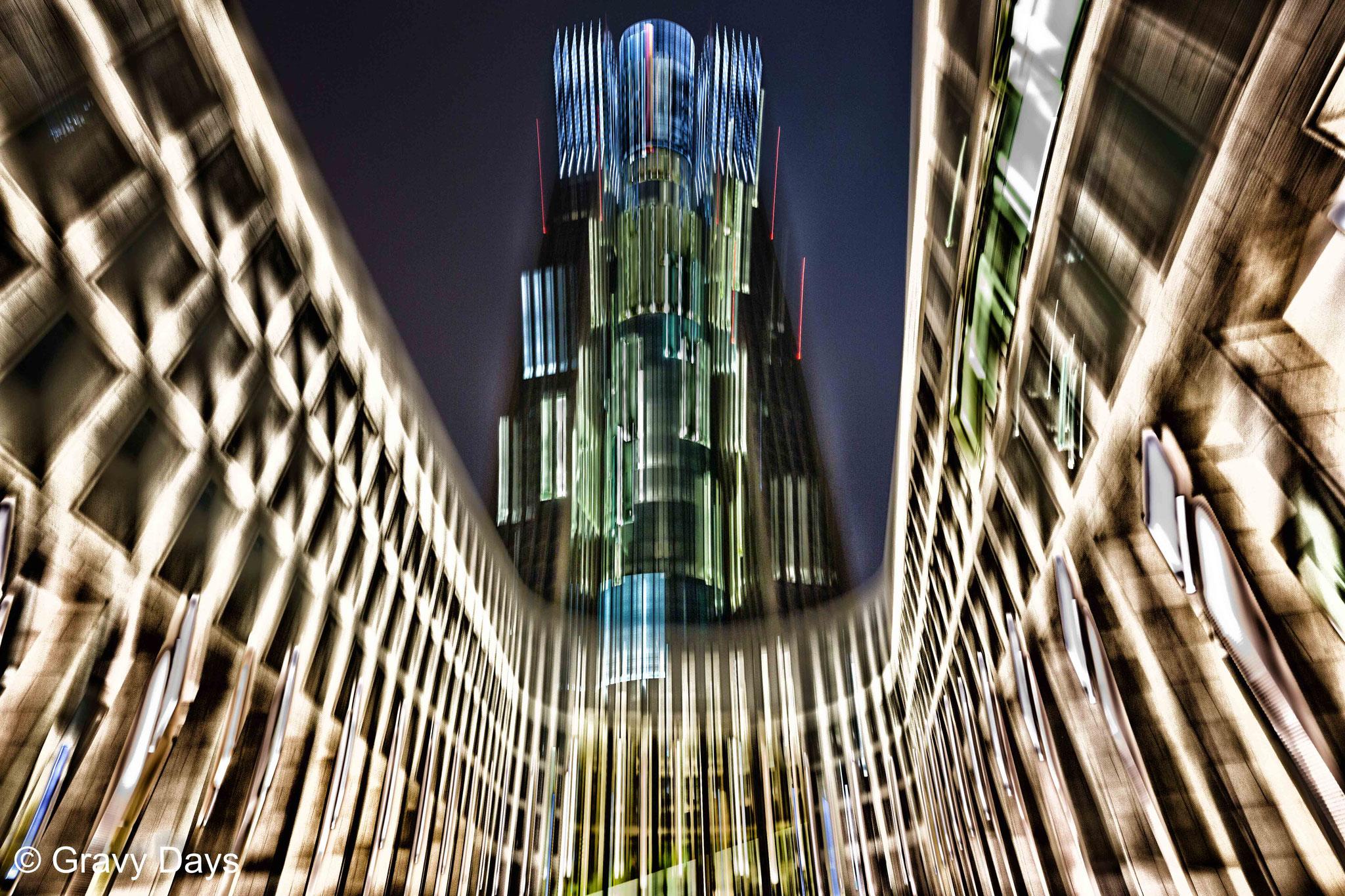 Star Treck Tower, Frankfurt, Germany 2016