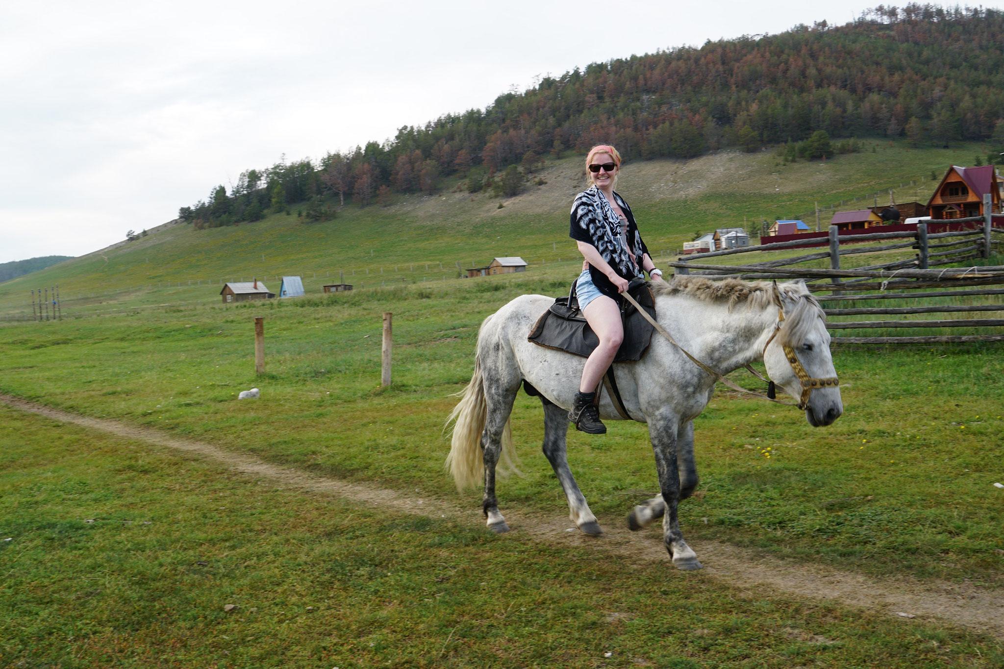 Hoch zu Pferde...