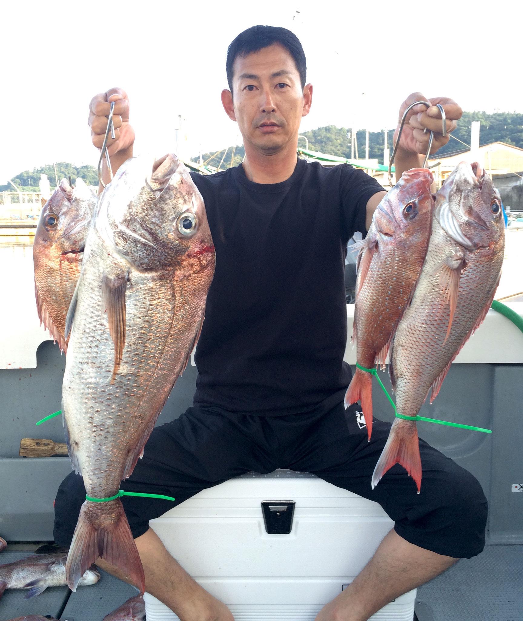 66.5頭に4Fish!