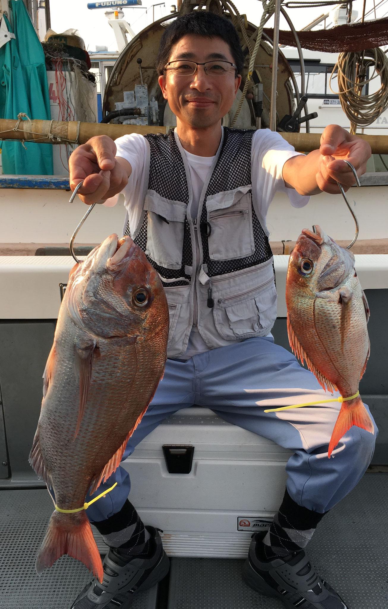 良型含む2Fish!!