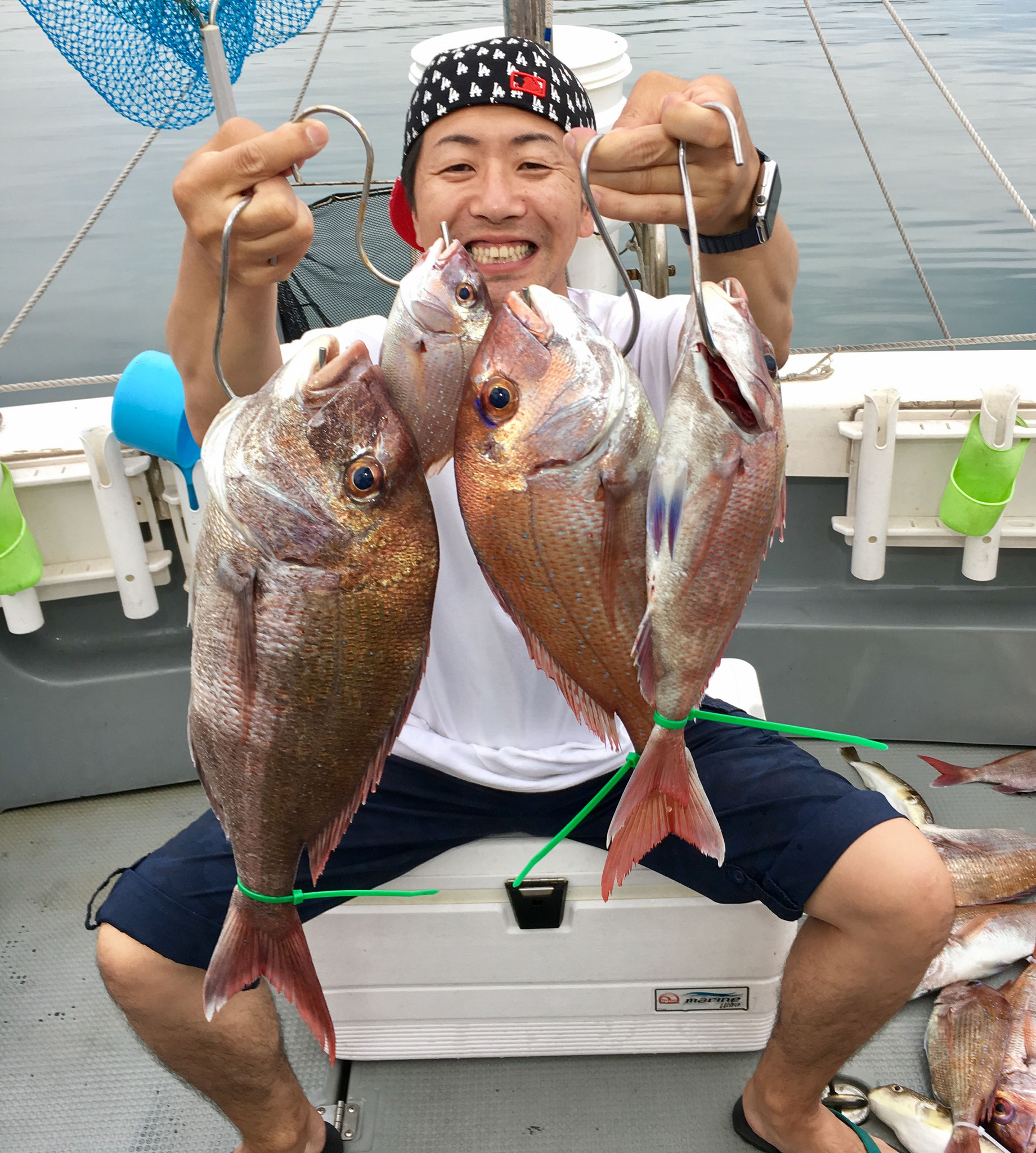 ポツリと3Fish!