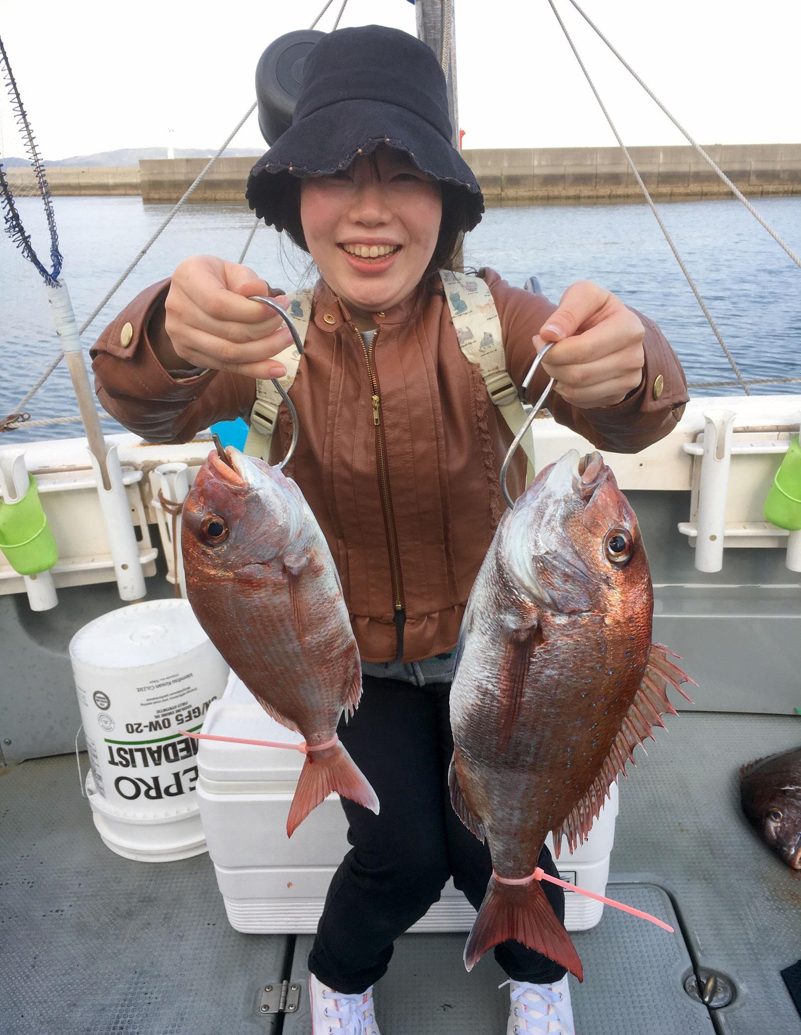 初釣り 初タイラバで2Fish!