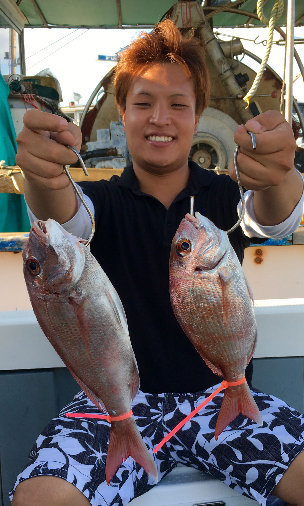 こちらも初タイラバで2Fish!(^^♪