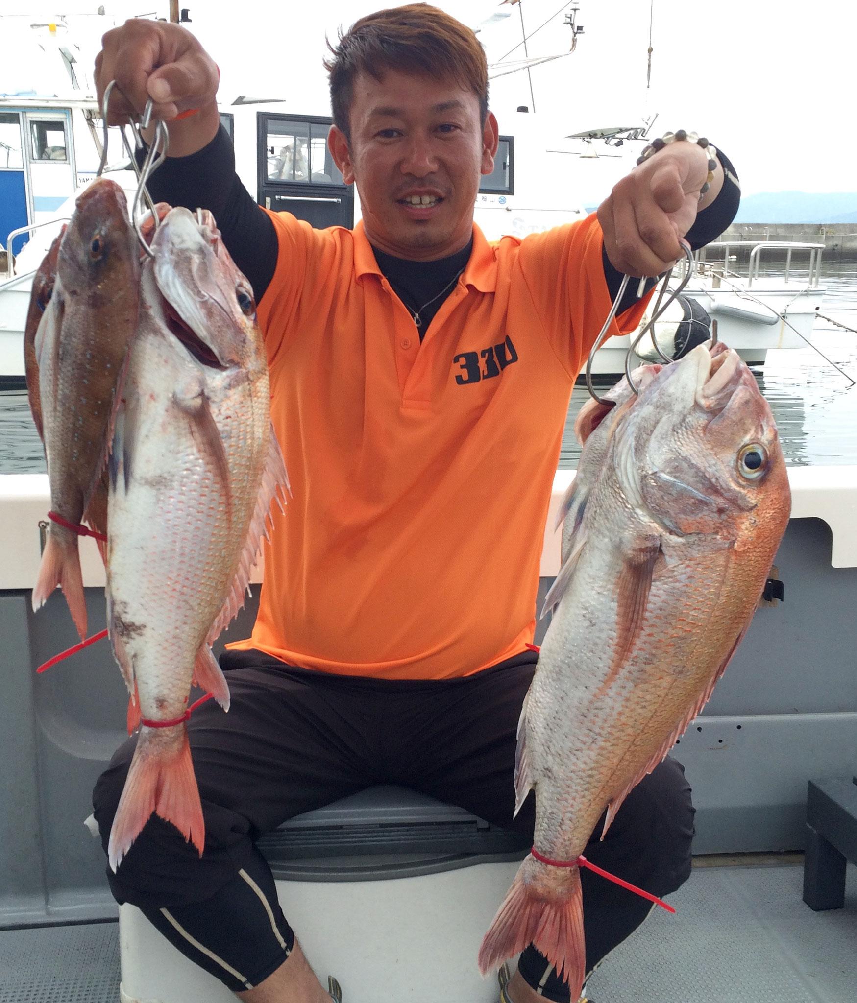 63.5頭に7fishお見事でした!330㎜もゲット(*^_^*)。