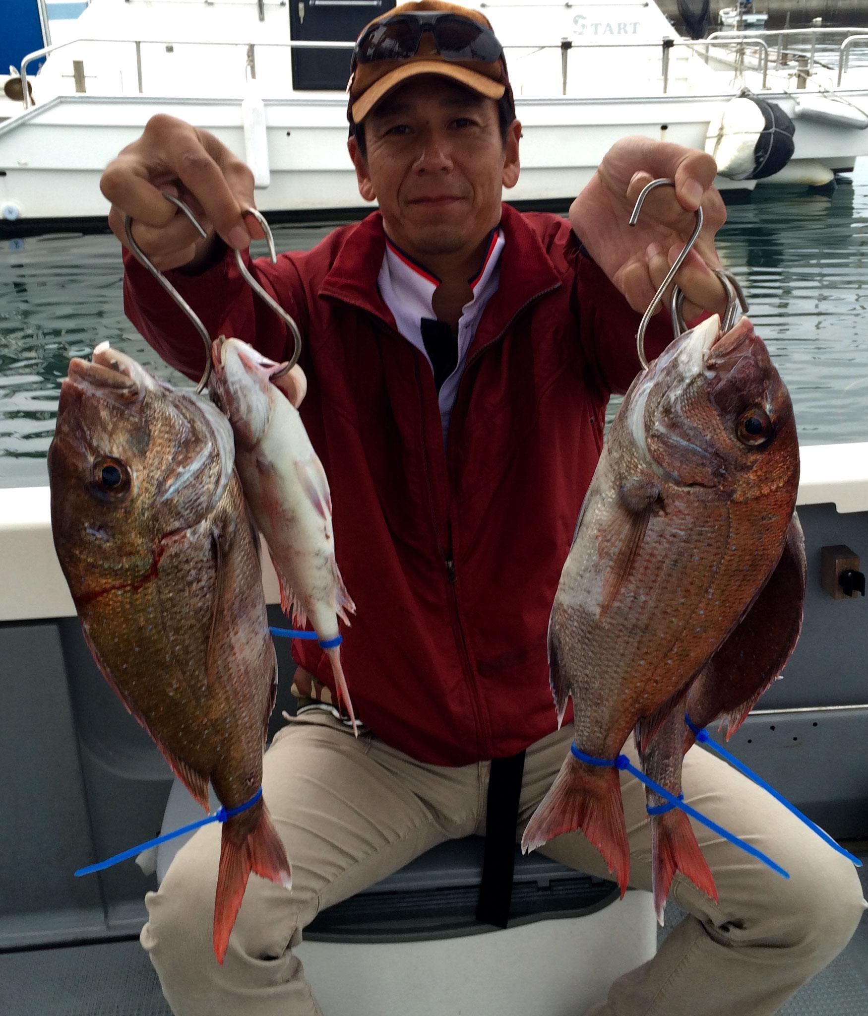 良型混じりの5fish!