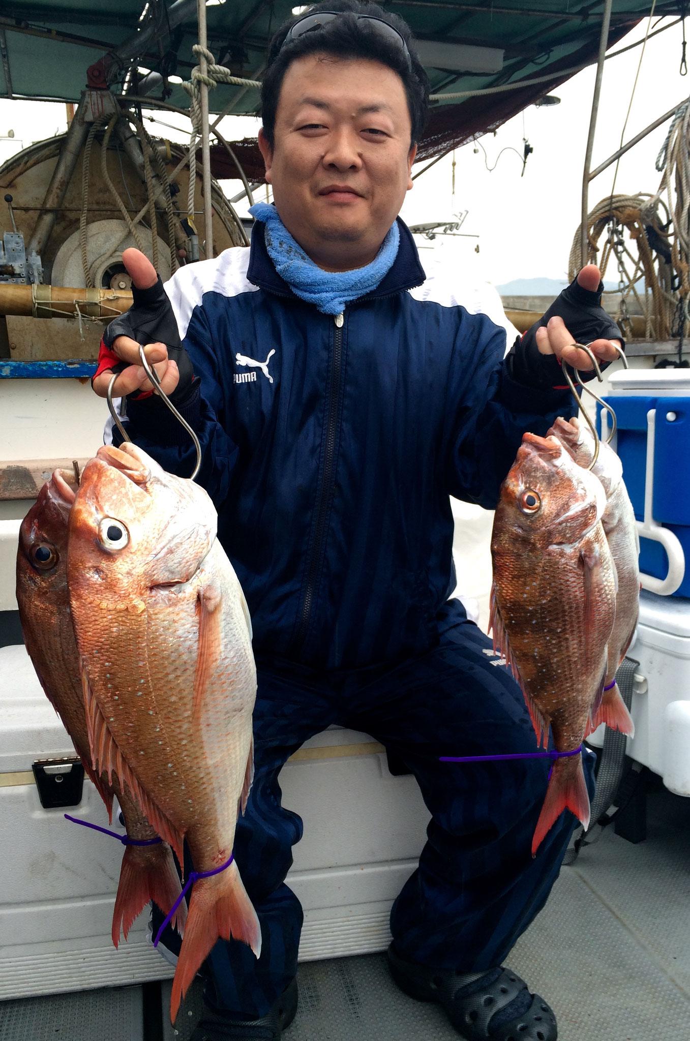 4fish!お見事!
