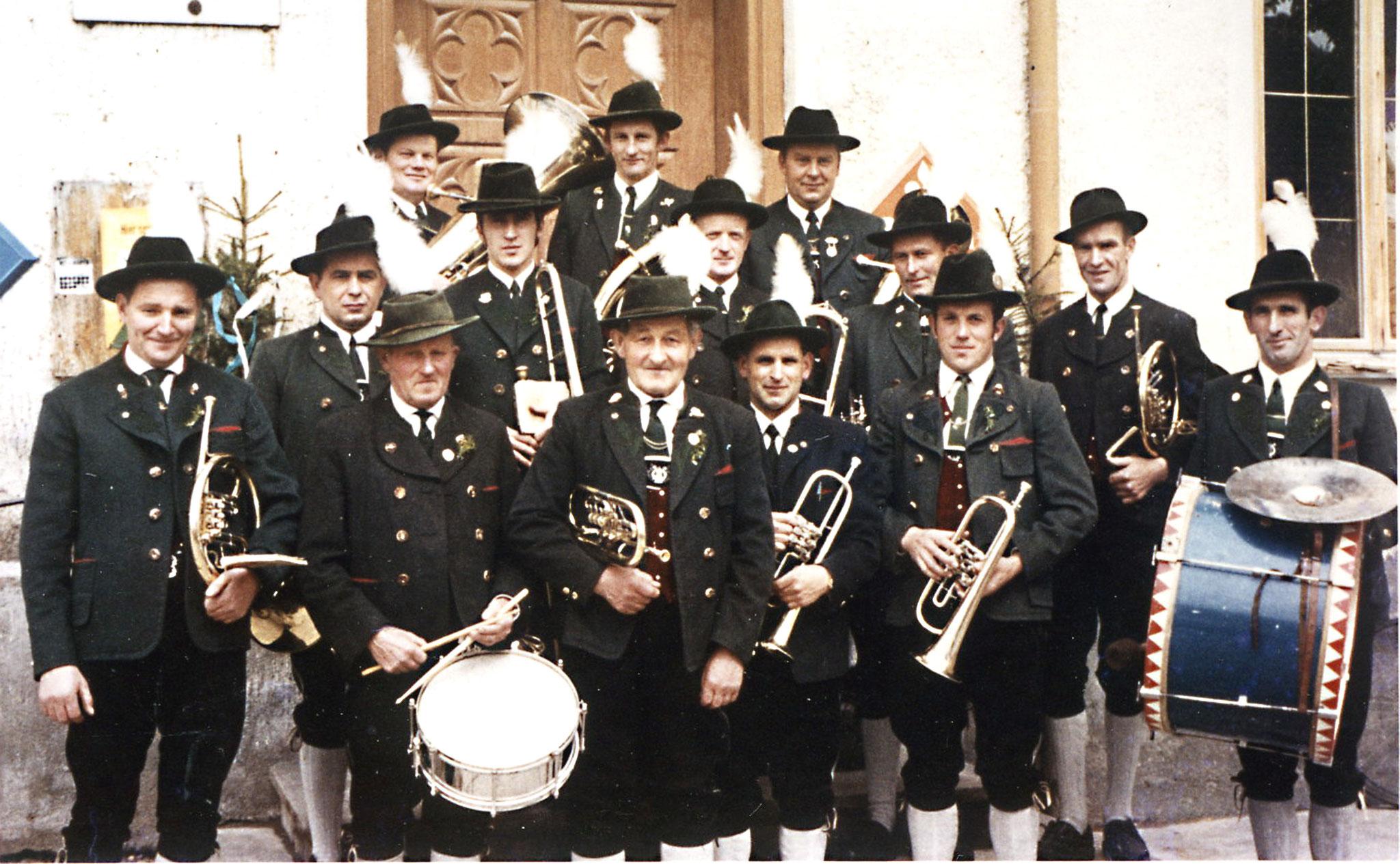 1969 - Musikkapelle in Reichling