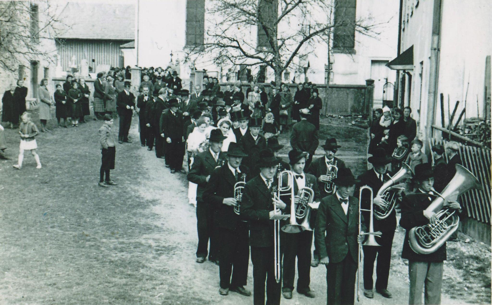 1948.04.25 Hochzeit in Epfach