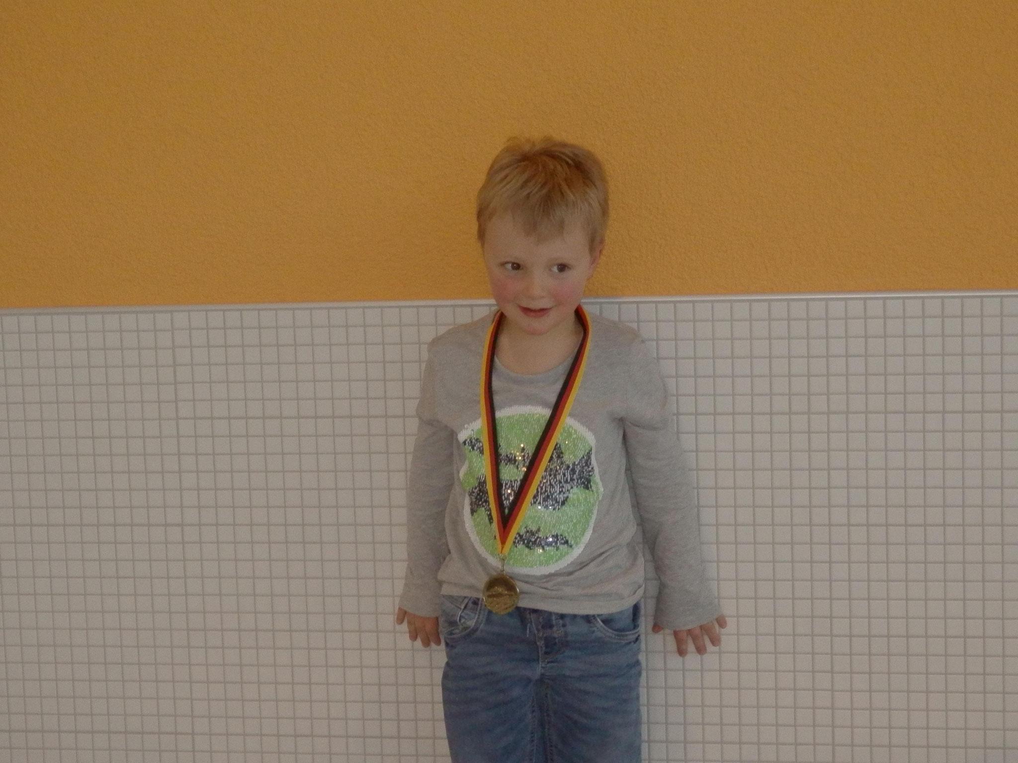 Vereinsmeister Männlich Jahrgang 2013 und jünger
