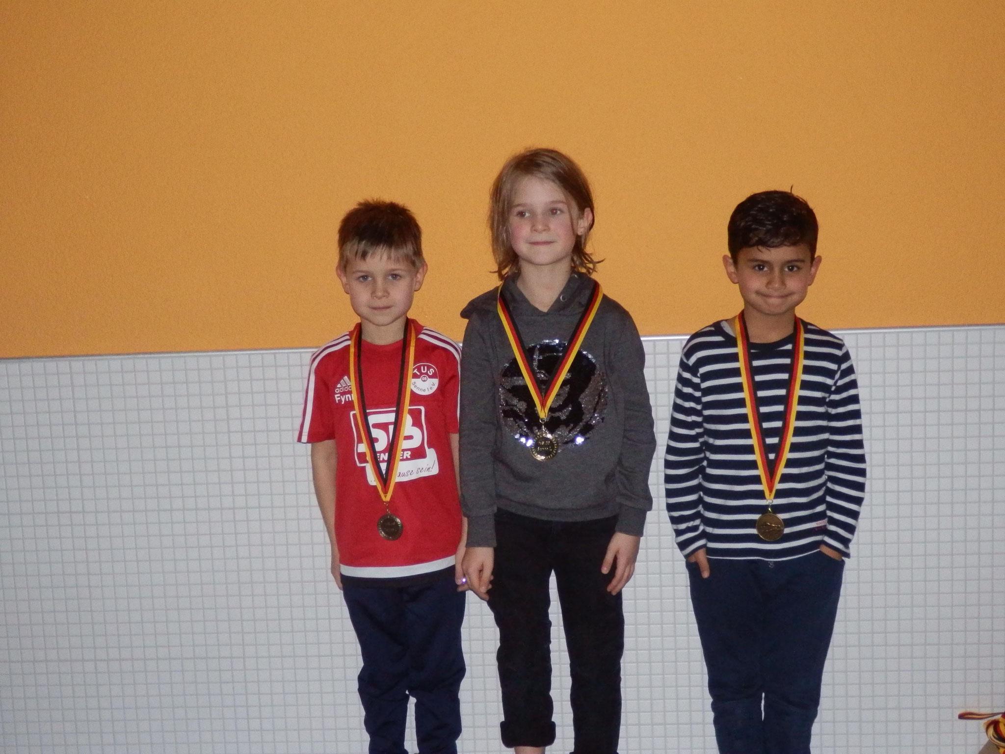 Vereinsmeister Männlich 2011