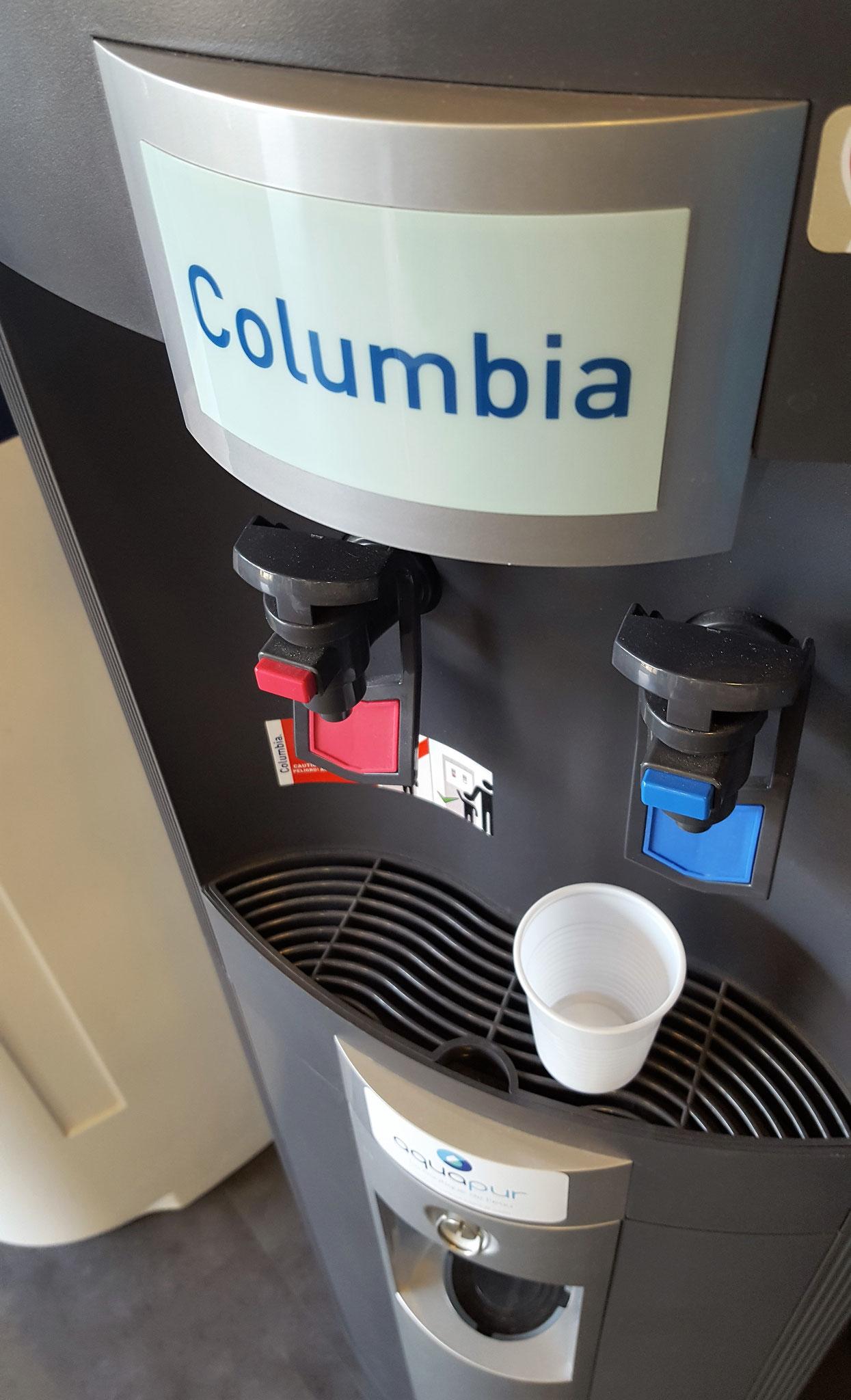Fontaine à eau aquapur, eau pure, eau de boisson, montpellier, herault, 34