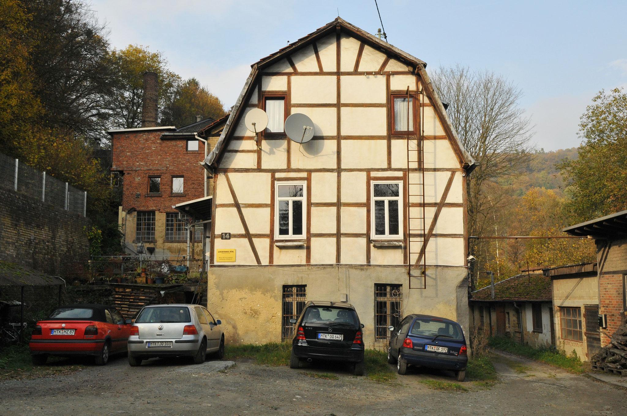 Parkplatz Lederfabrik Rühl