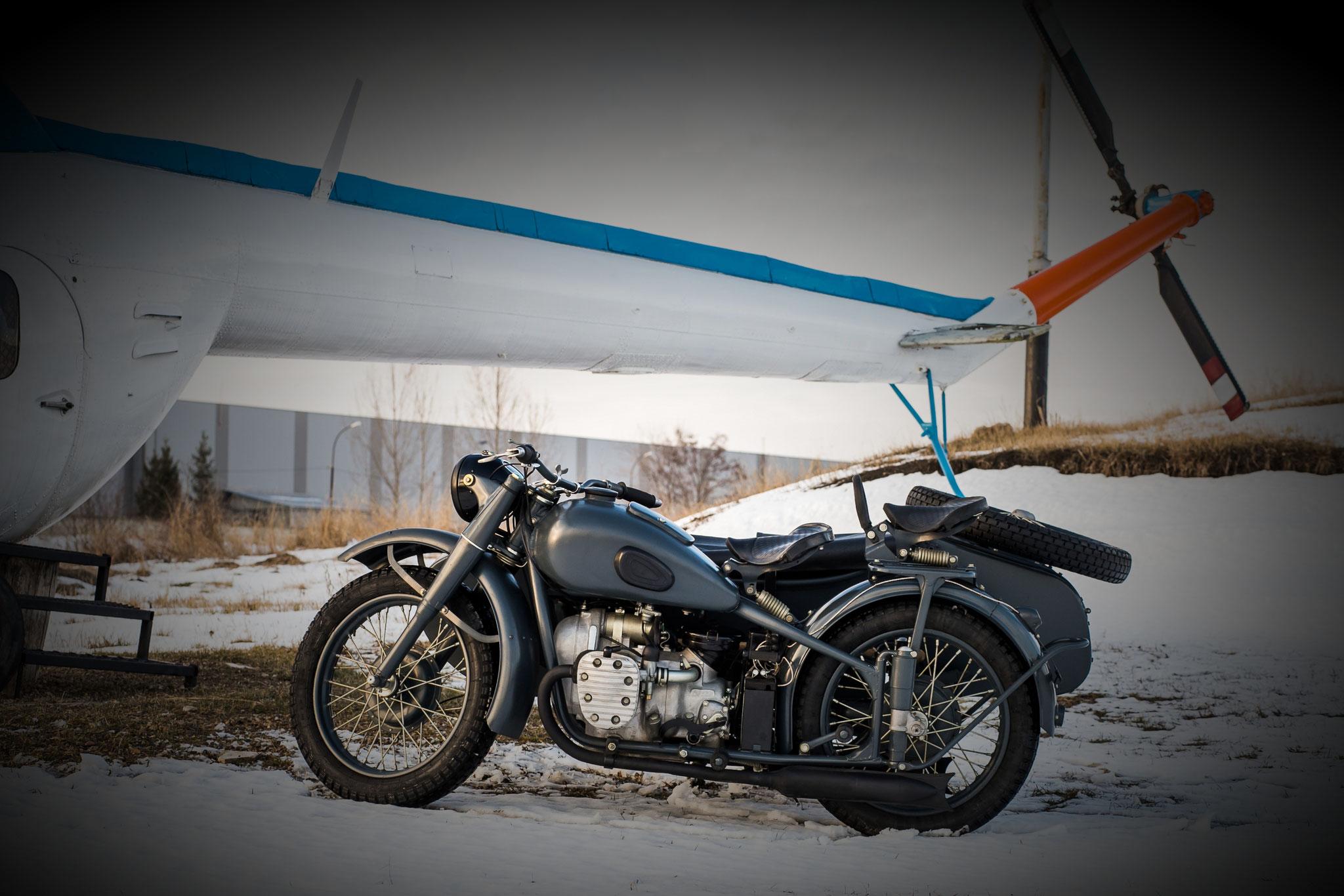 Pantser - (Dnepr K-750 - 1960) - from 6.000,00 euro
