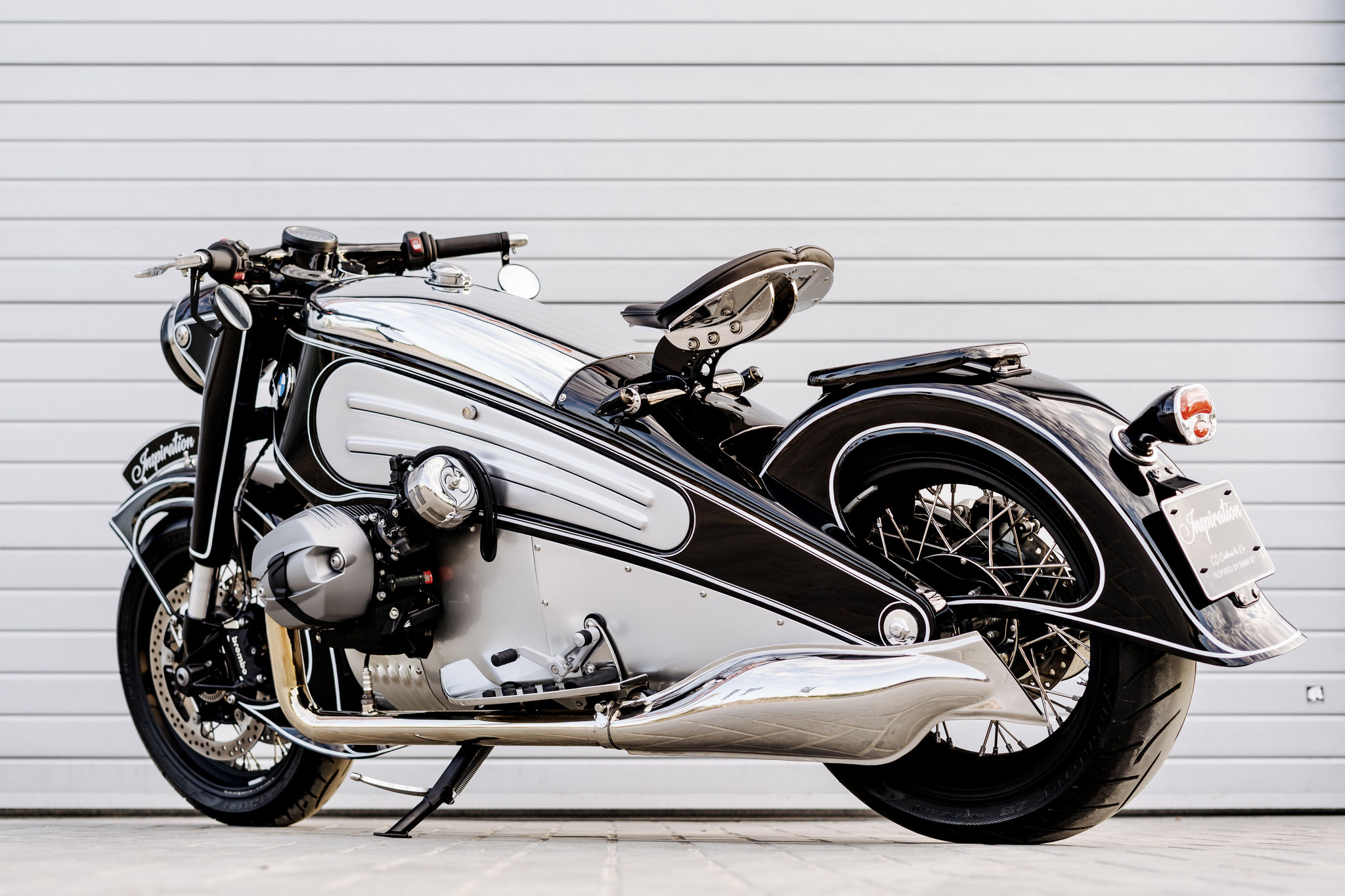 BMW R90-S - handcrafted out of airplane aluminium - BMW R7 Inspiration - 30.000 euro