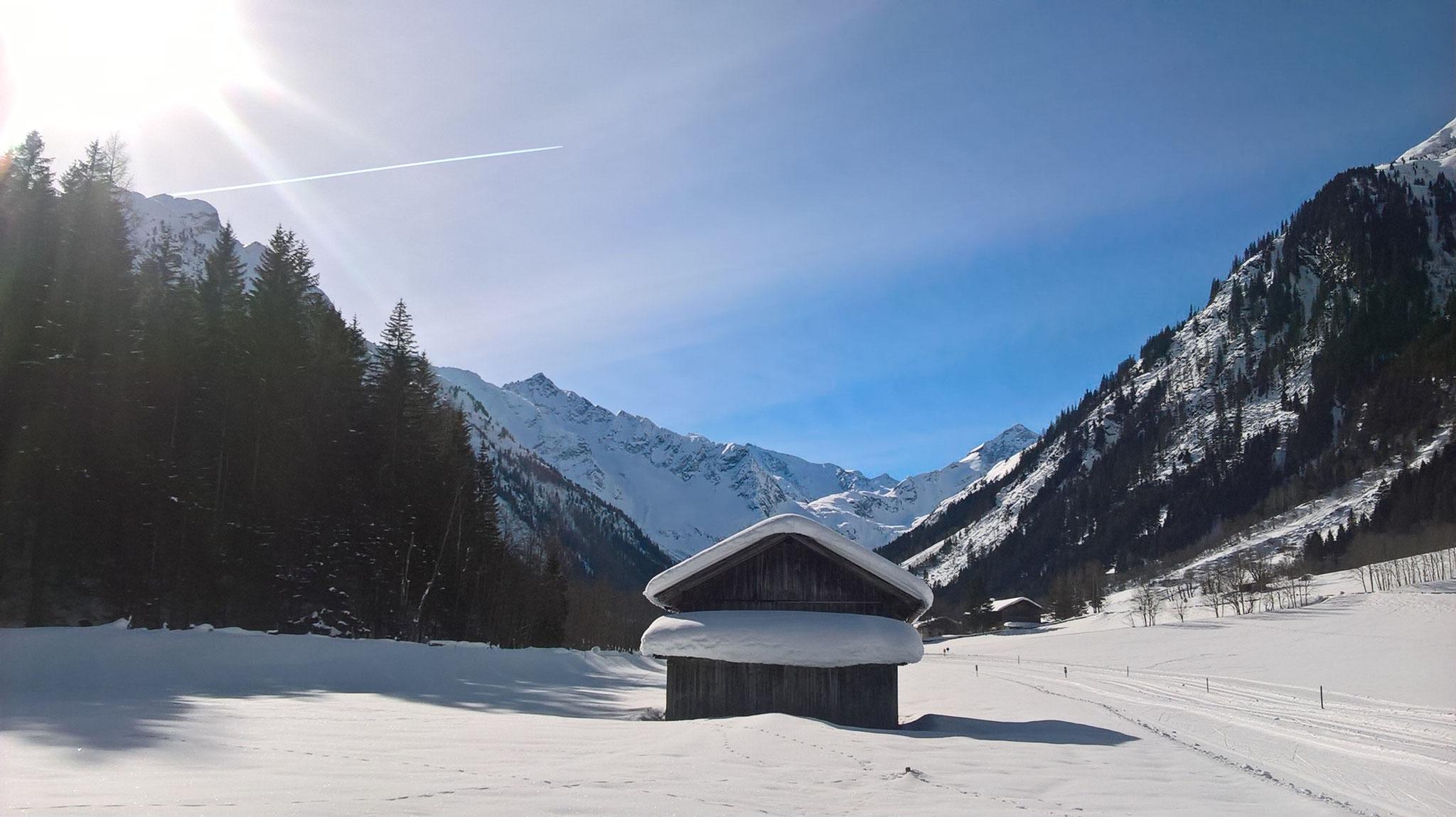 Ein herrlicher Wintertag....