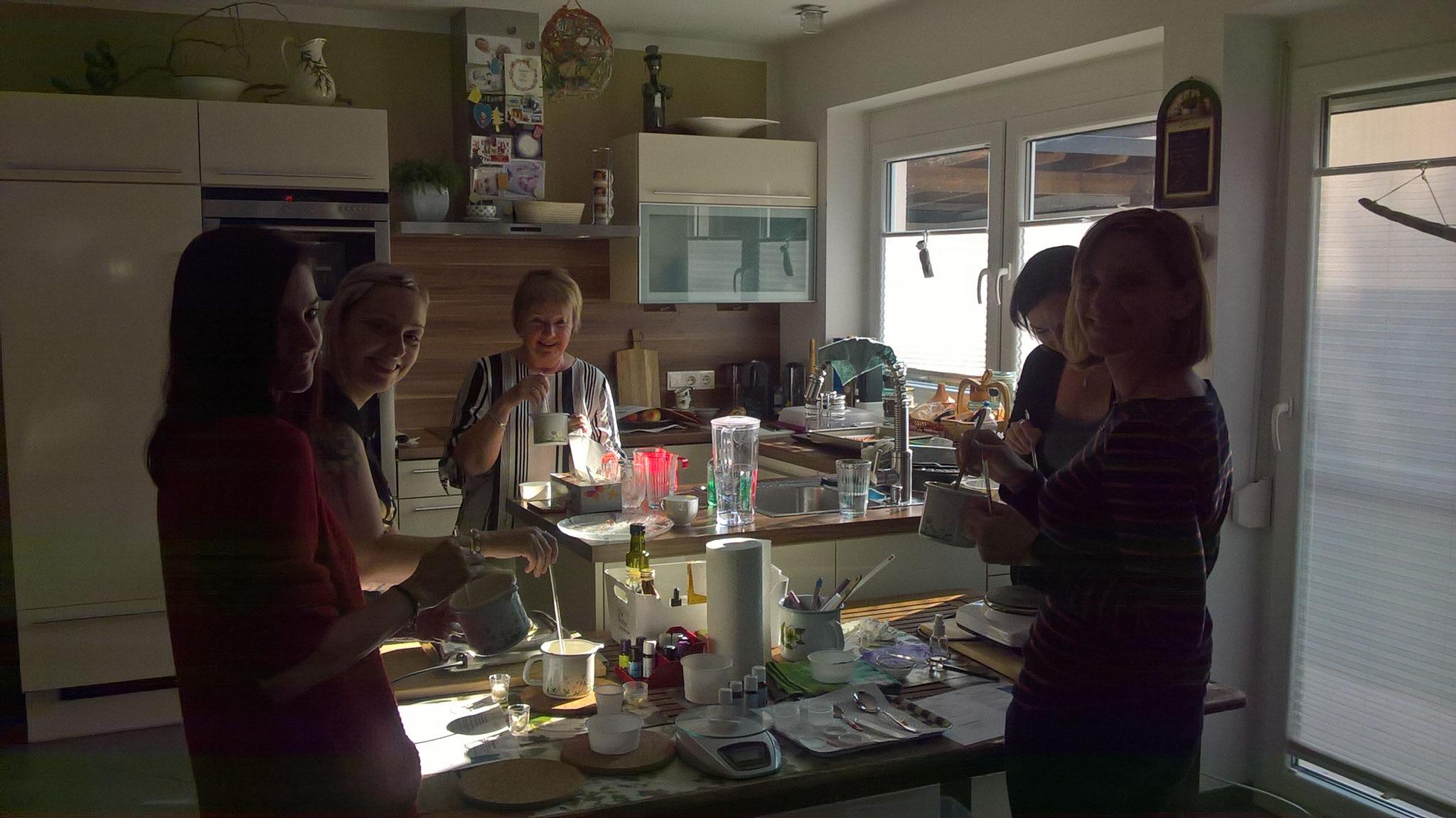 Privater Workshop bei lieben Freundinnen