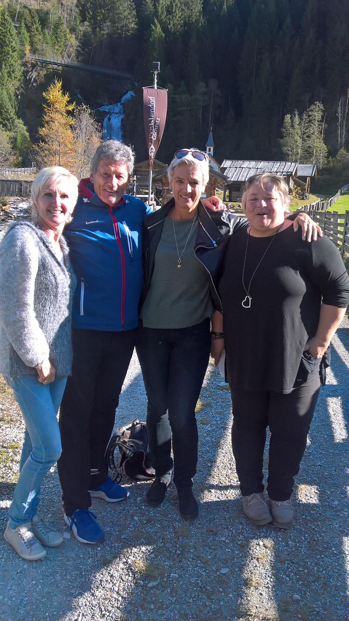 Besuch von Olympiasiegerin Sigrid Wolf.....