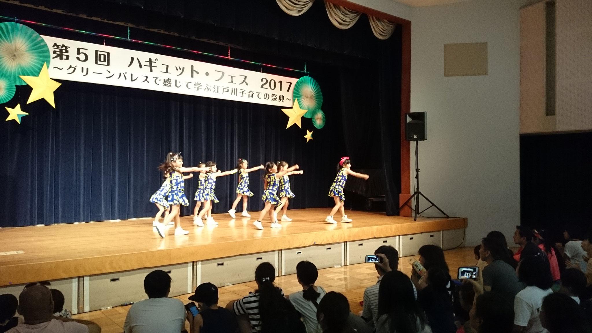 DCK☆2度目のステージでもしっかり笑顔で全力でした!