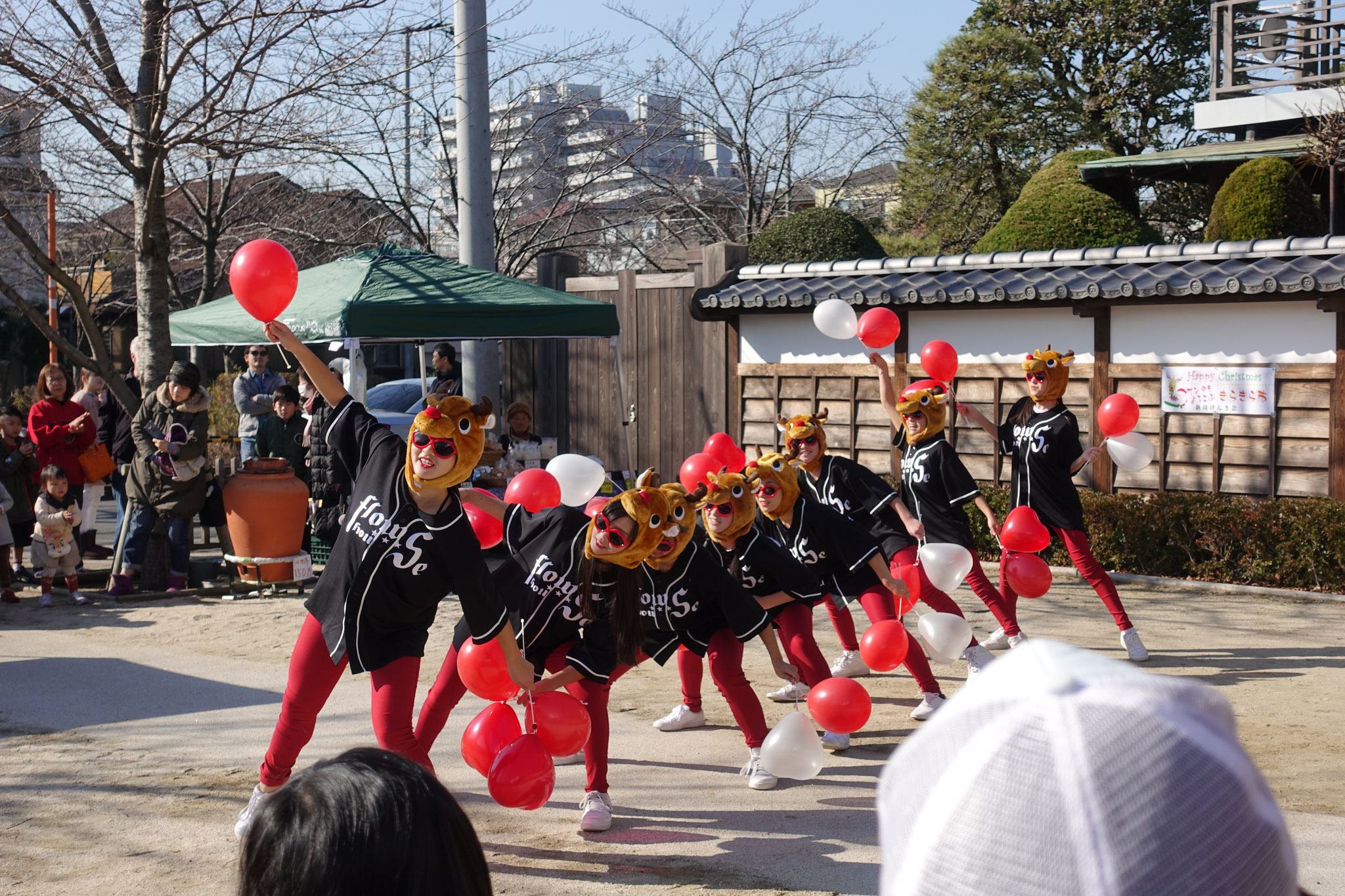 今年も登場!トナカイflowS☆