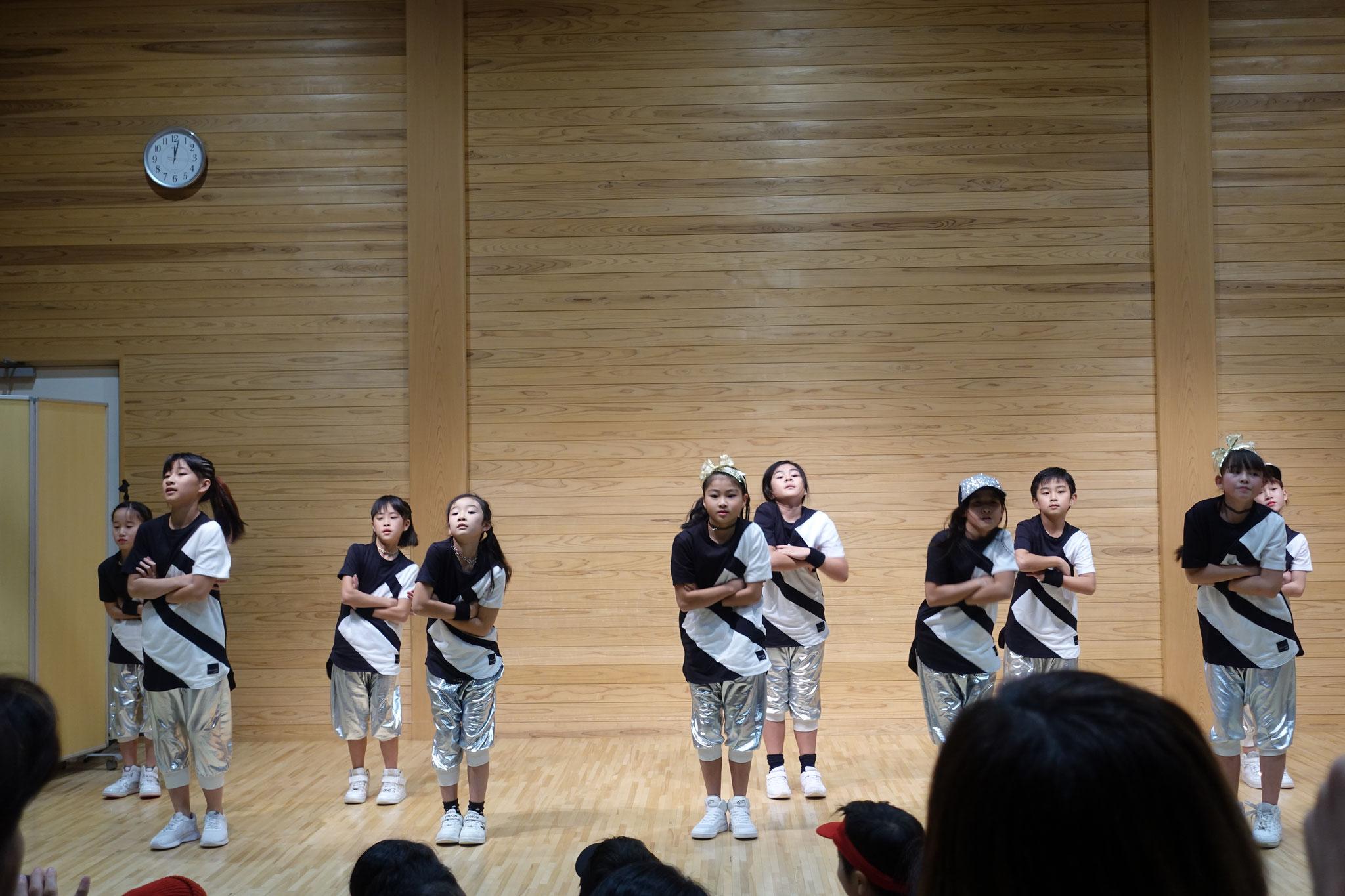 火曜HIPHOPクラス☆かっこよく決まりました!