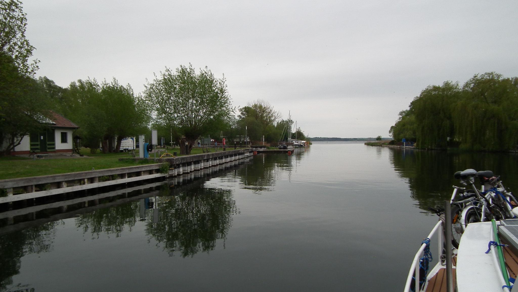 Aalbude / Verchen an der Peene - kurz vor dem Kummerower See