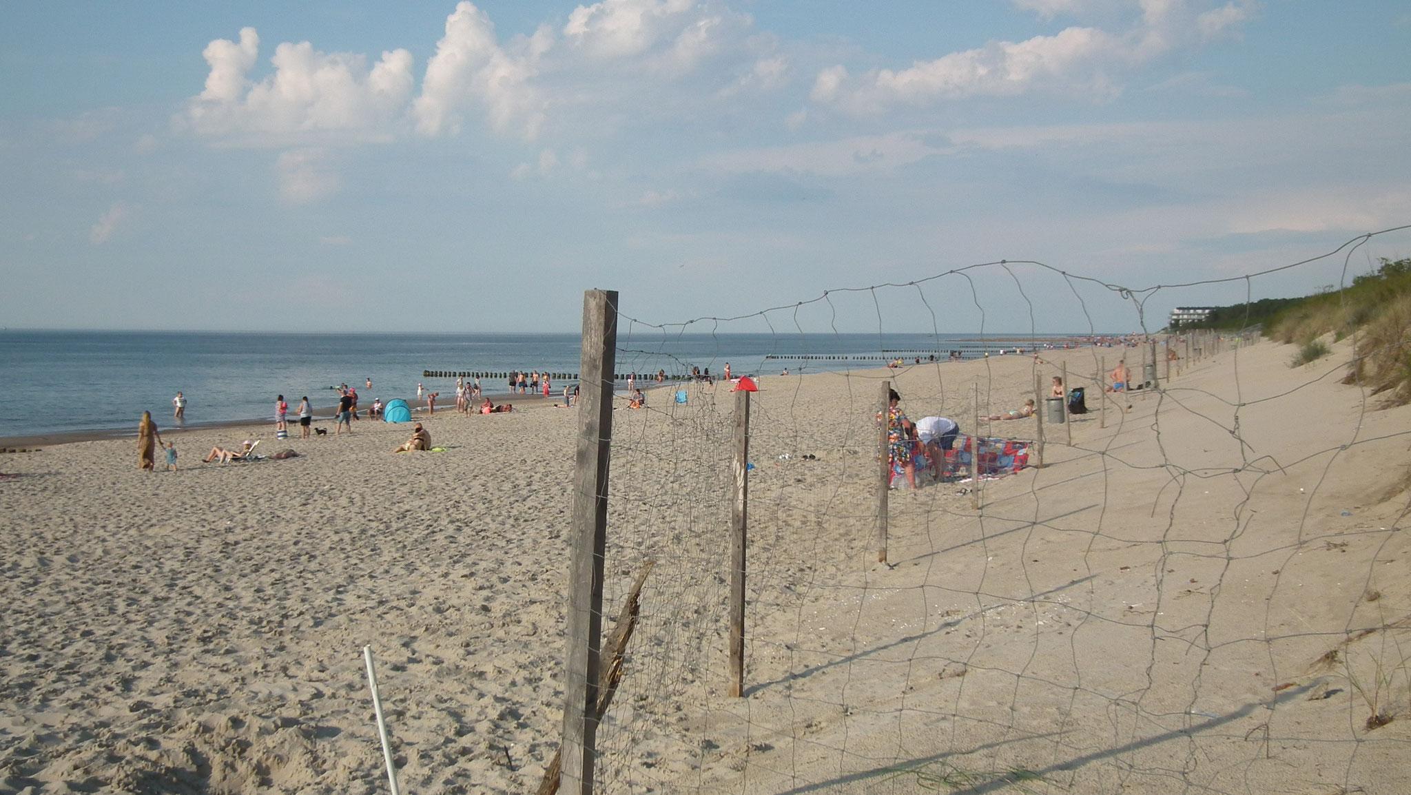 Am Strand von Dievenow / Dziwnów