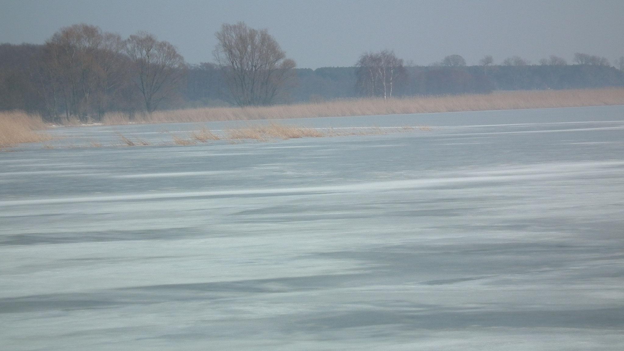 Zugefrorenes Achterwasser Usedom
