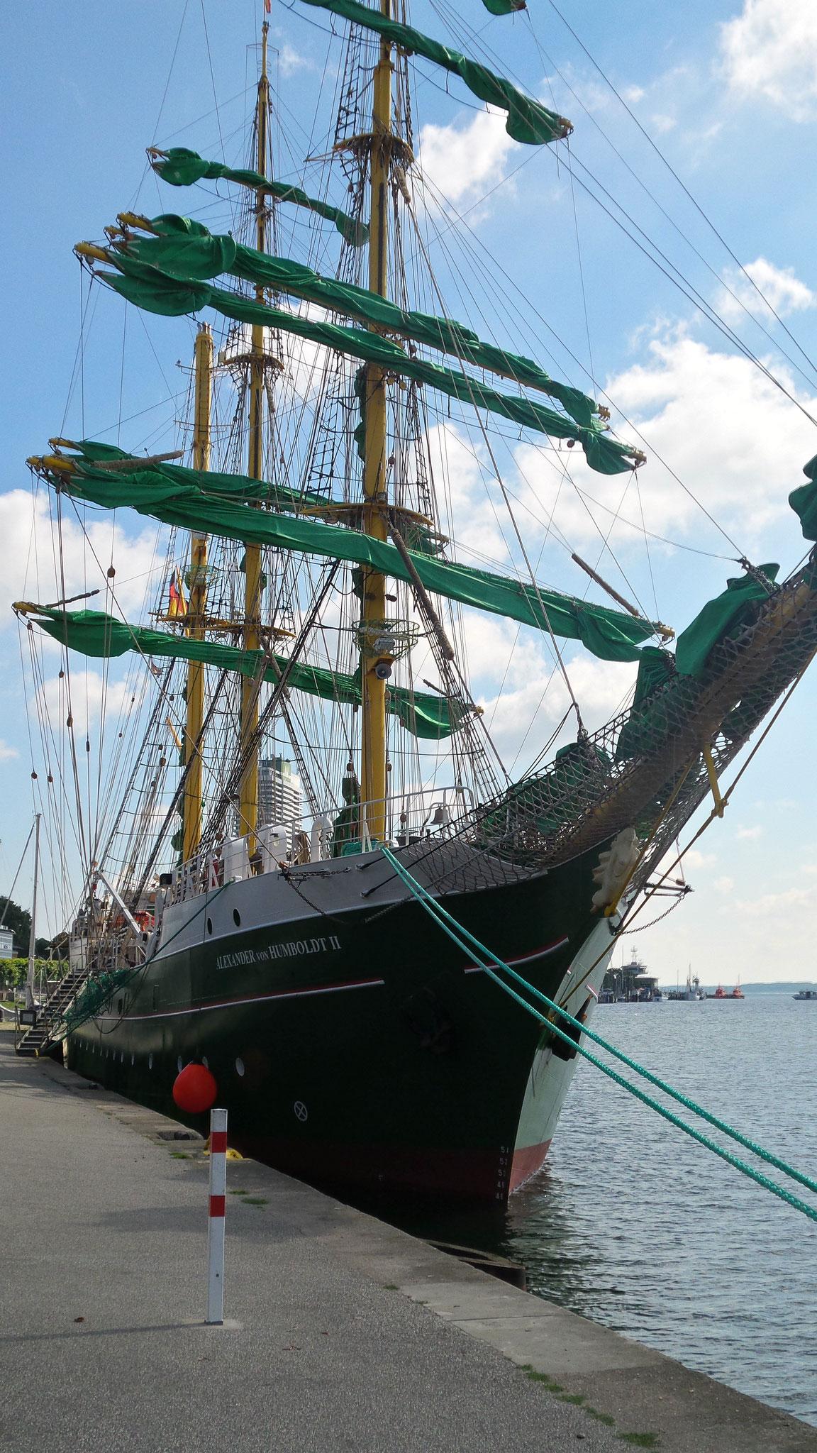 Alexander von Humboldt Segelschiff