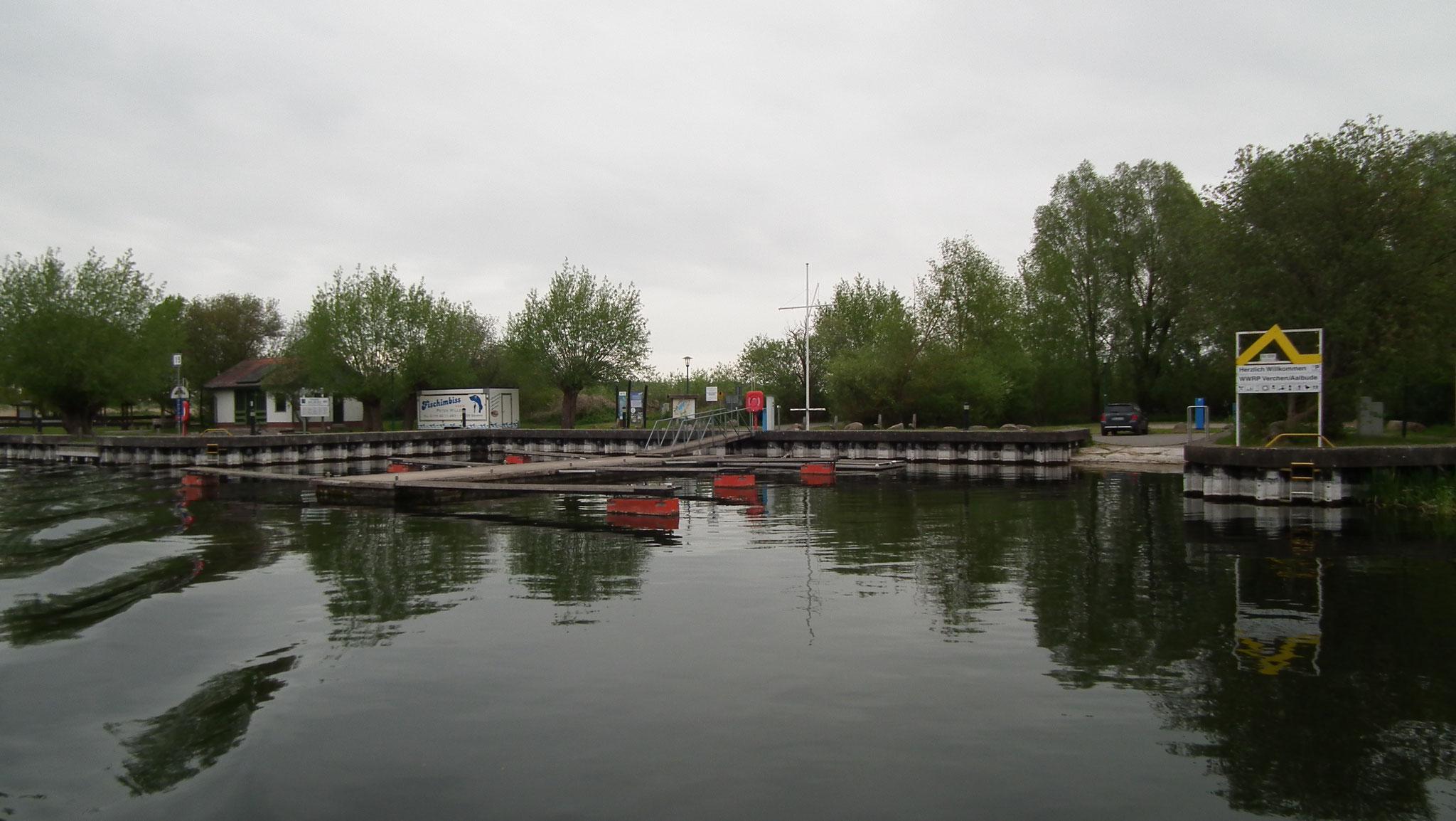 Aalbude / Verchen Anleger für Sportboote
