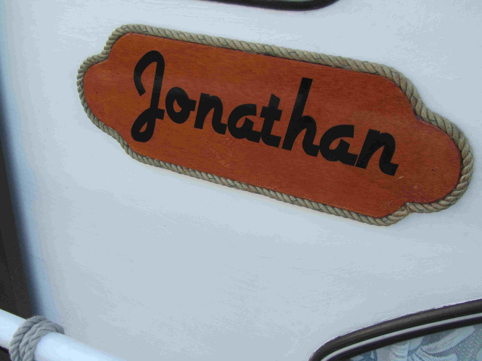 "klar muss unser Sommerboot1 - Boot ""Jonathan"" heißen (wie die Möwe Jonathan)"