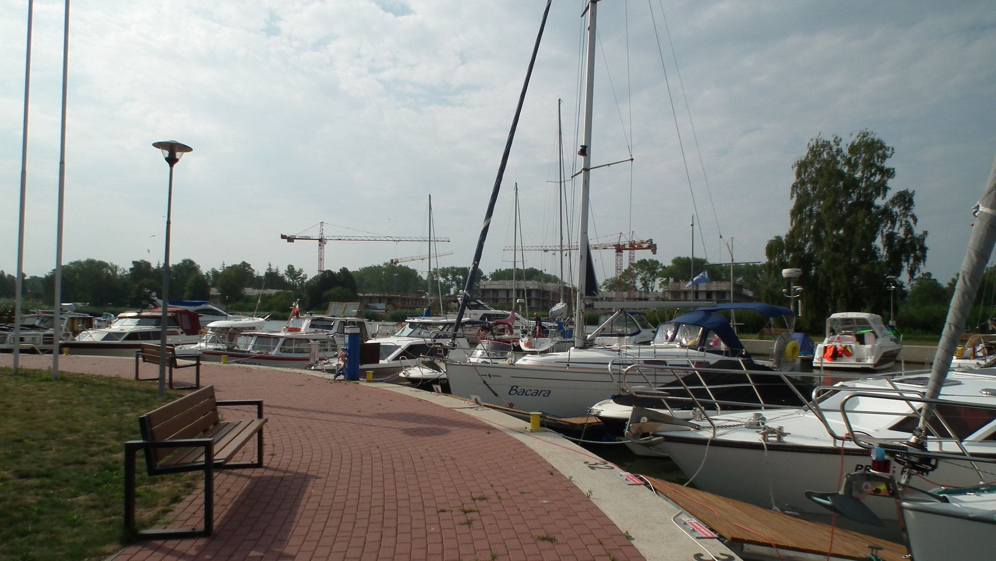 Yachthafen Dievenow
