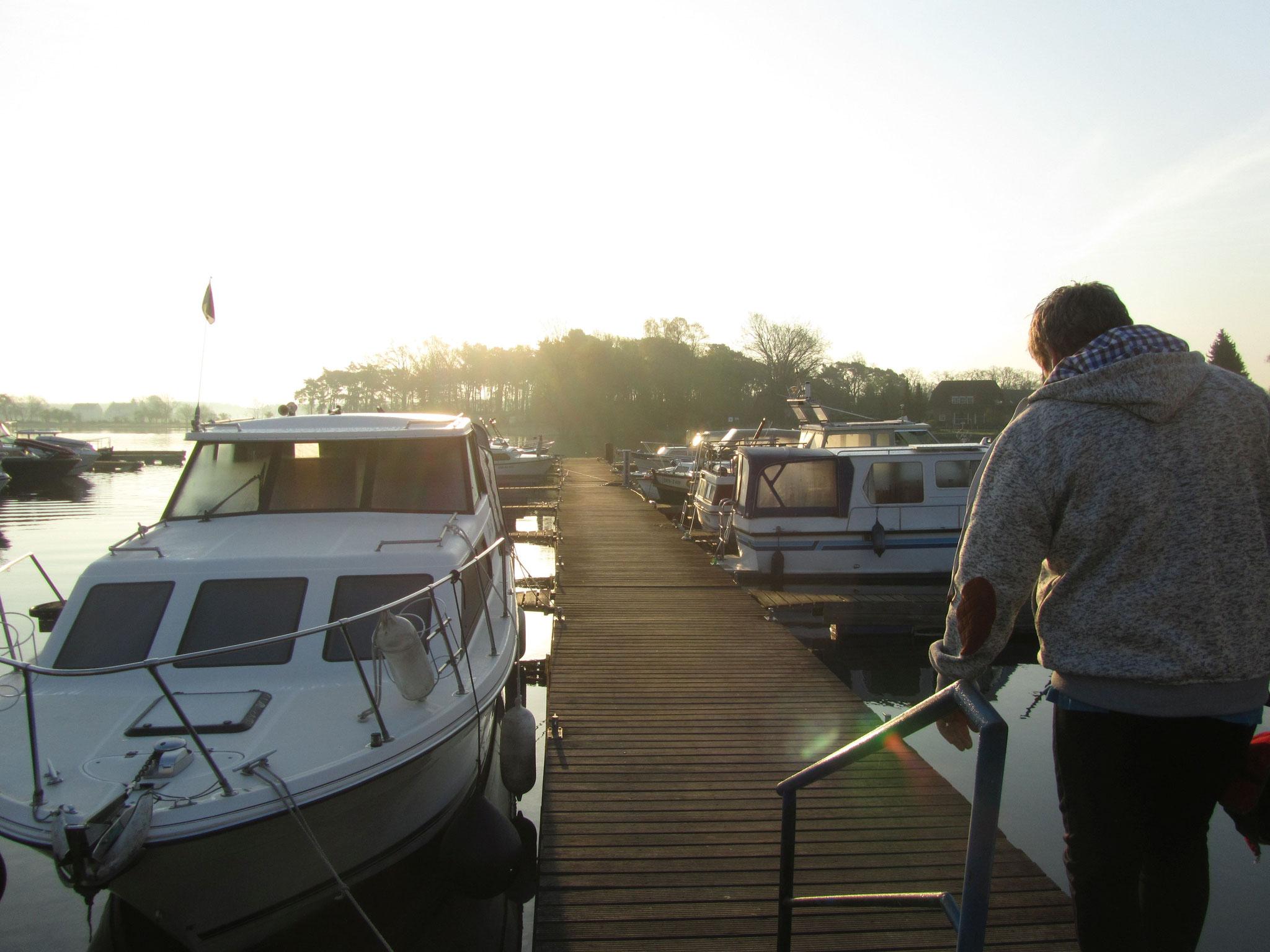 Brauckmann Boote Hafen an der Havel