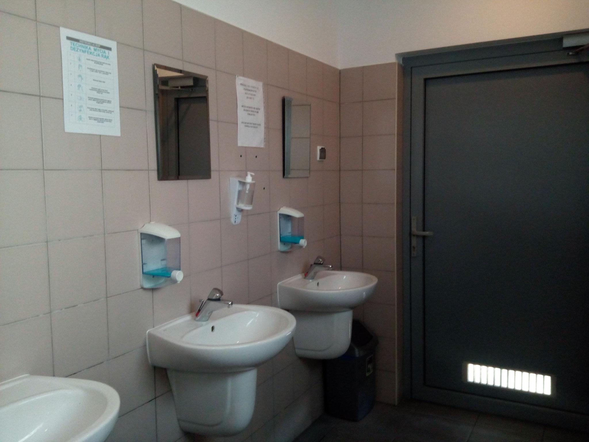 Sanitäranlage im Yachthafen Dziwnów