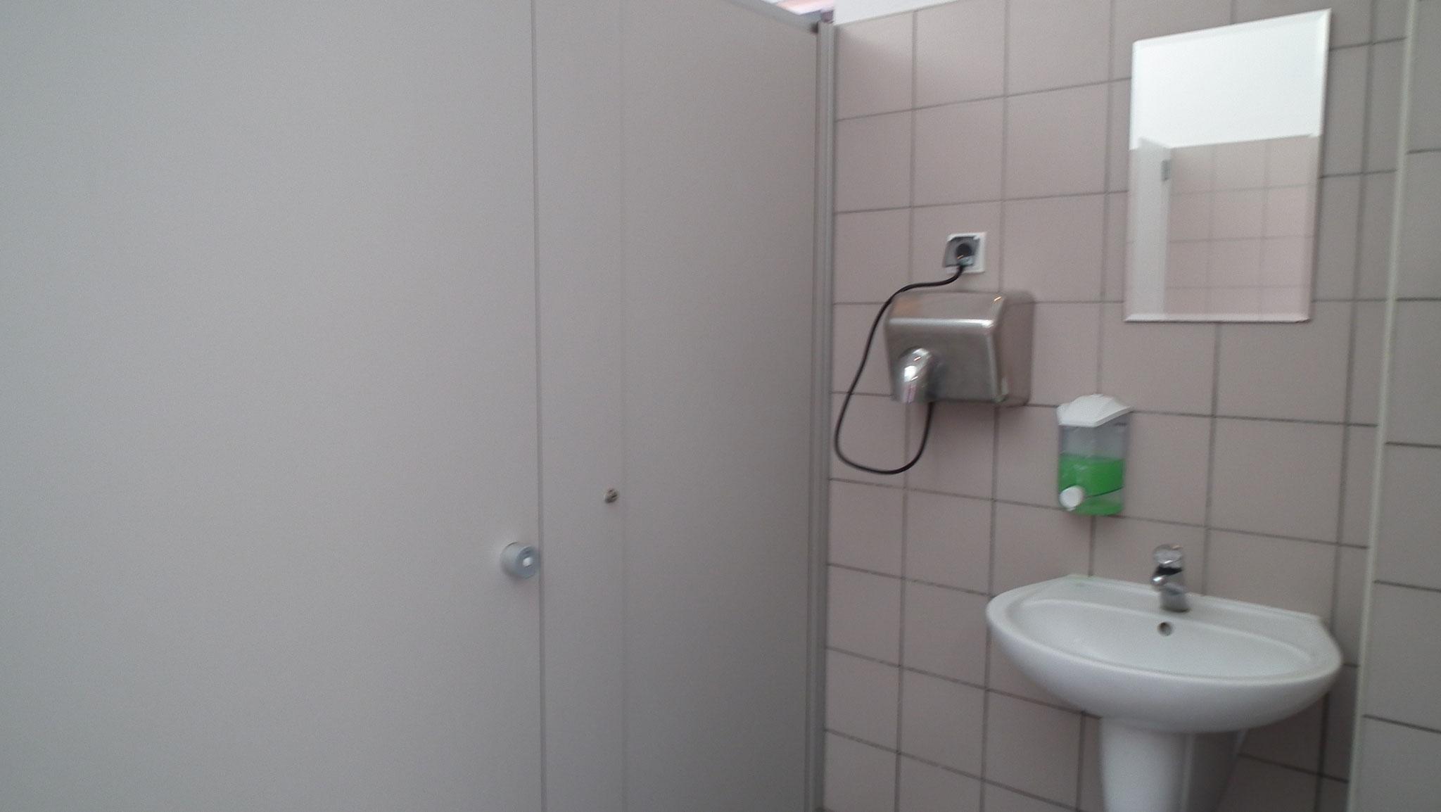 Sanitäranlage Dievenow