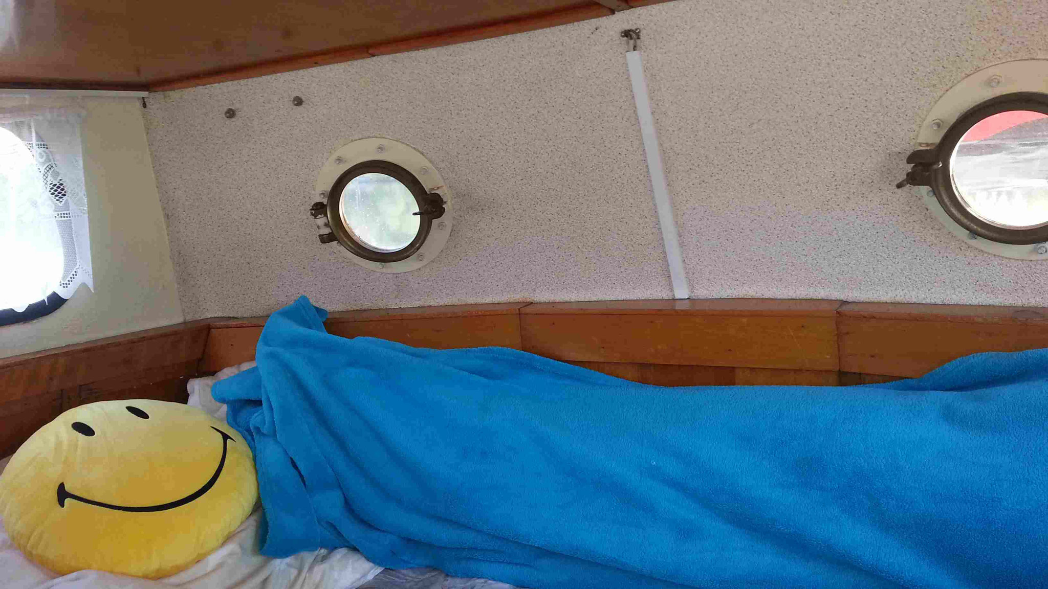 verkleinertes Bett für Gäste