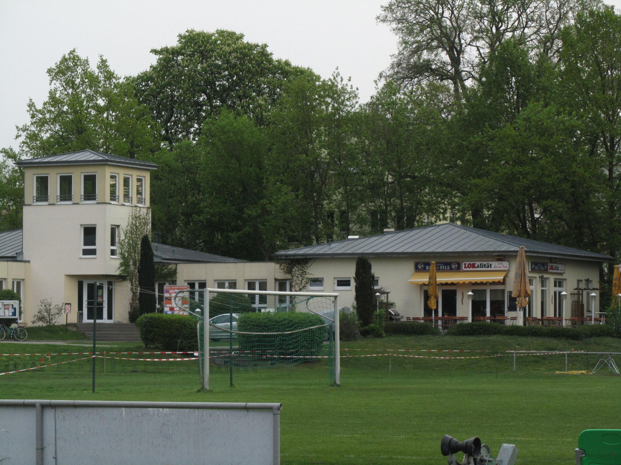 Sportplatz SV Lokomotive am Hafen Potsdam