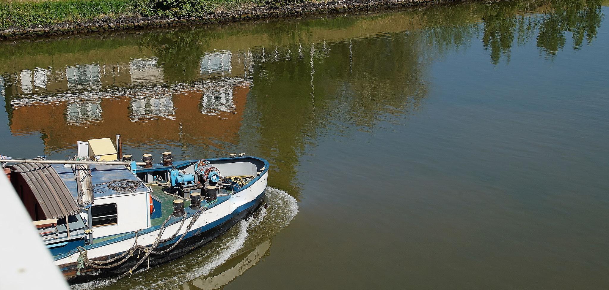 Eindrücke des Julianakanals