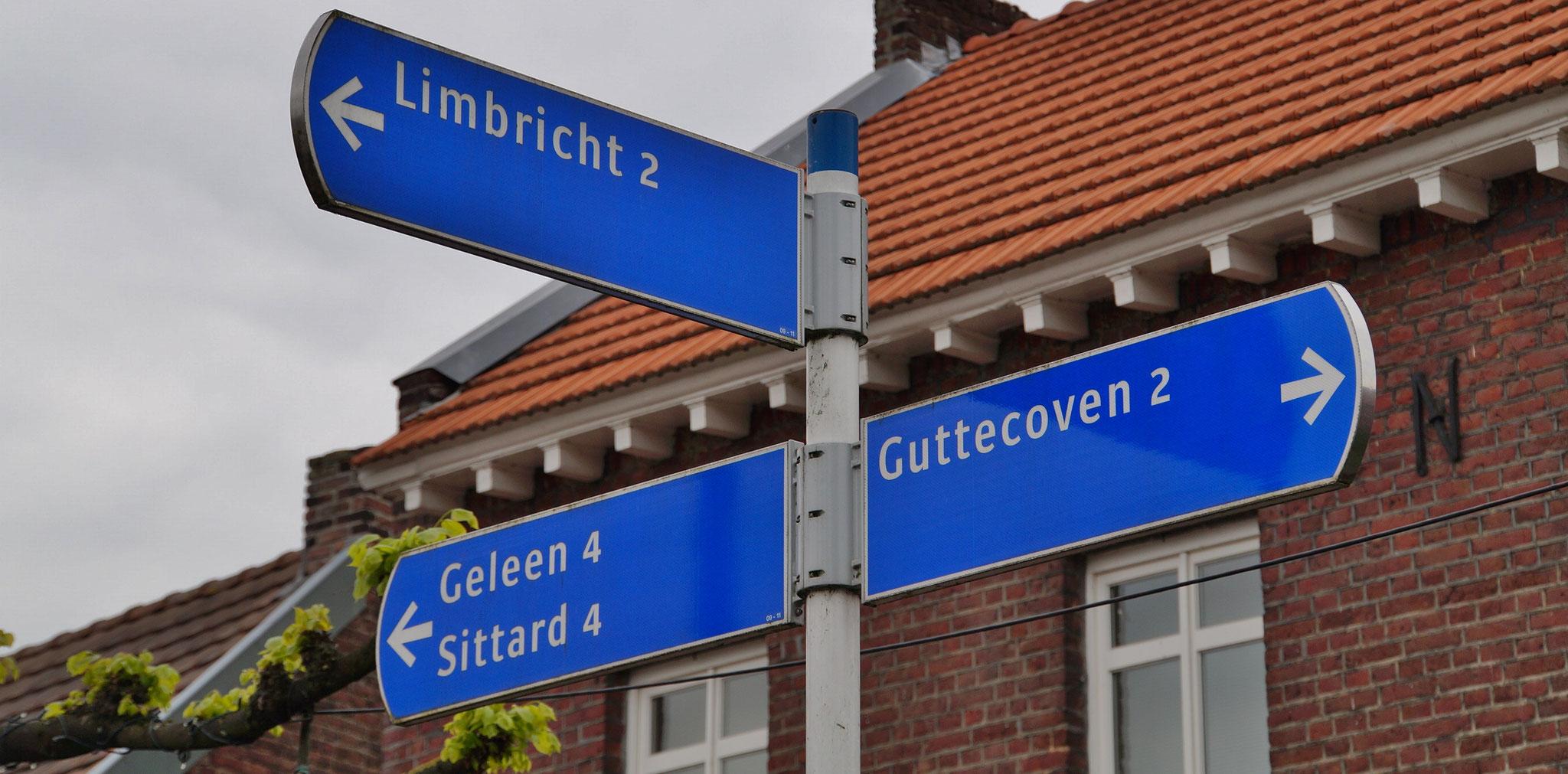 Wir fahren Richtung Limbricht (NL)