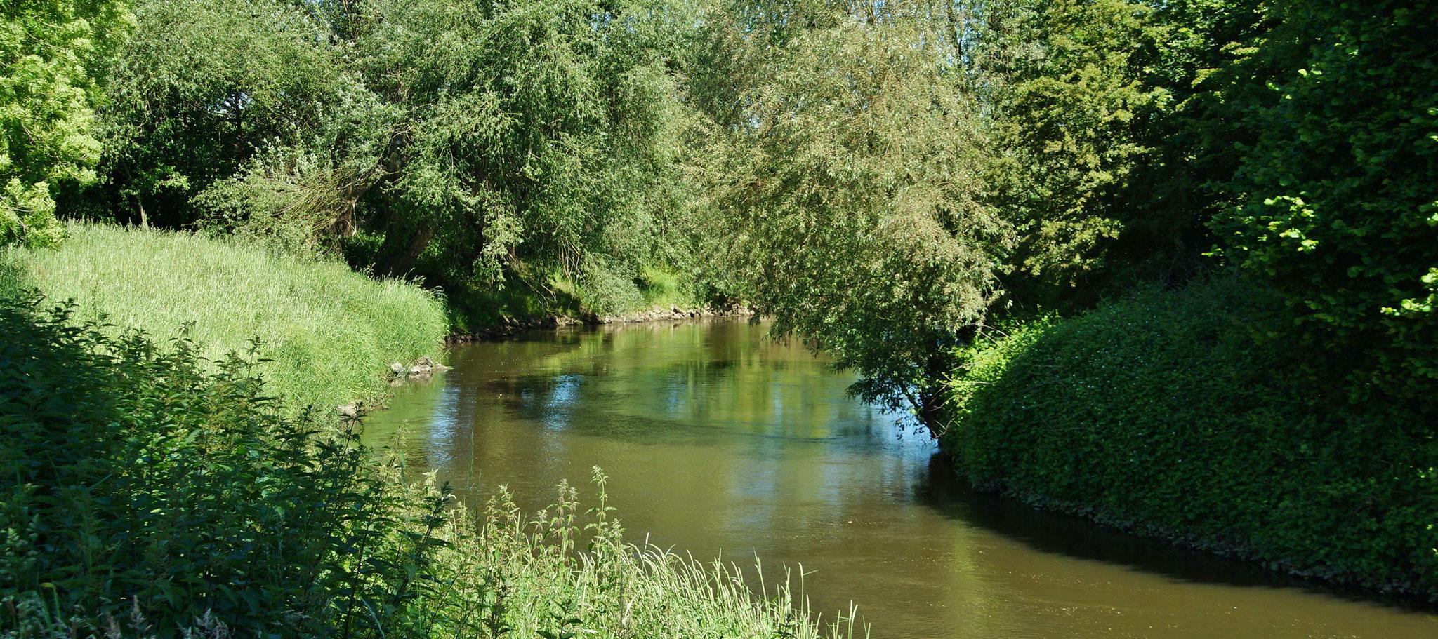 Die Roer fließt an diesem Städtchen entlang