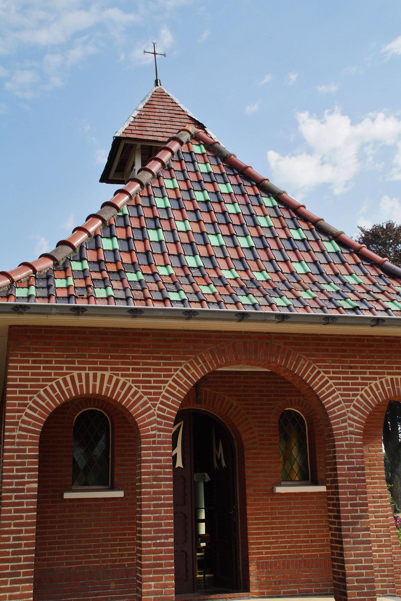 Eine Kapelle auf der Route nach Solt