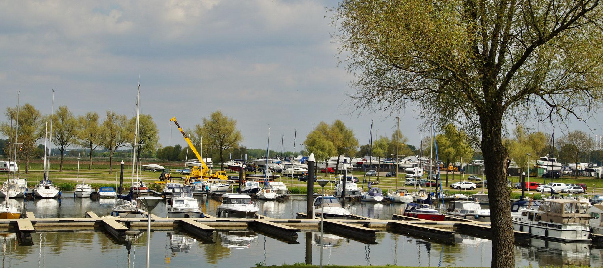 Der Hafen von Stevensweert