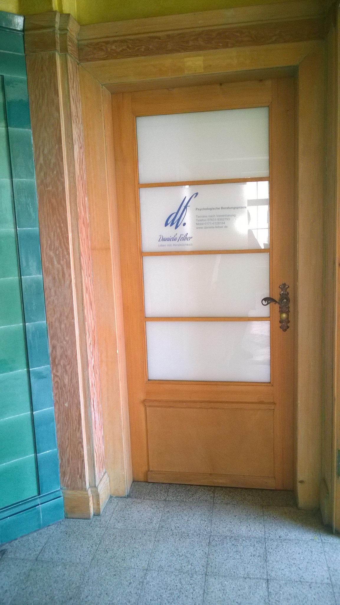 Eingang Beratungsraum