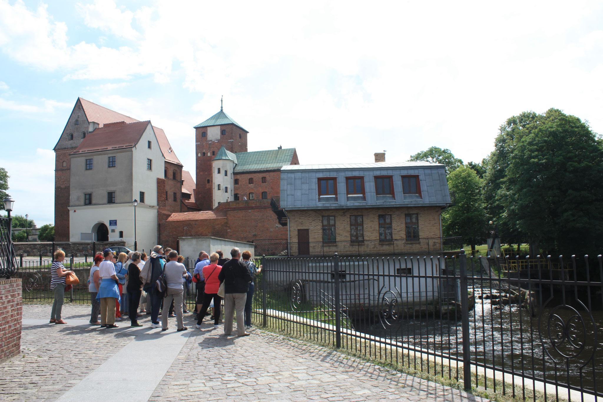 Das Schloss Rügenwalde, gebaut 1352-72