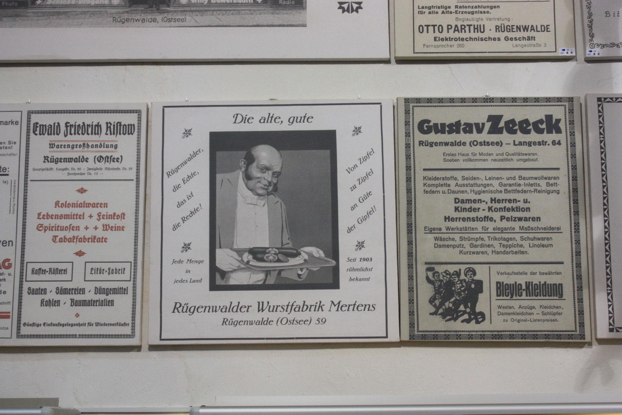 Ursprung der Rügenwalder Wurst