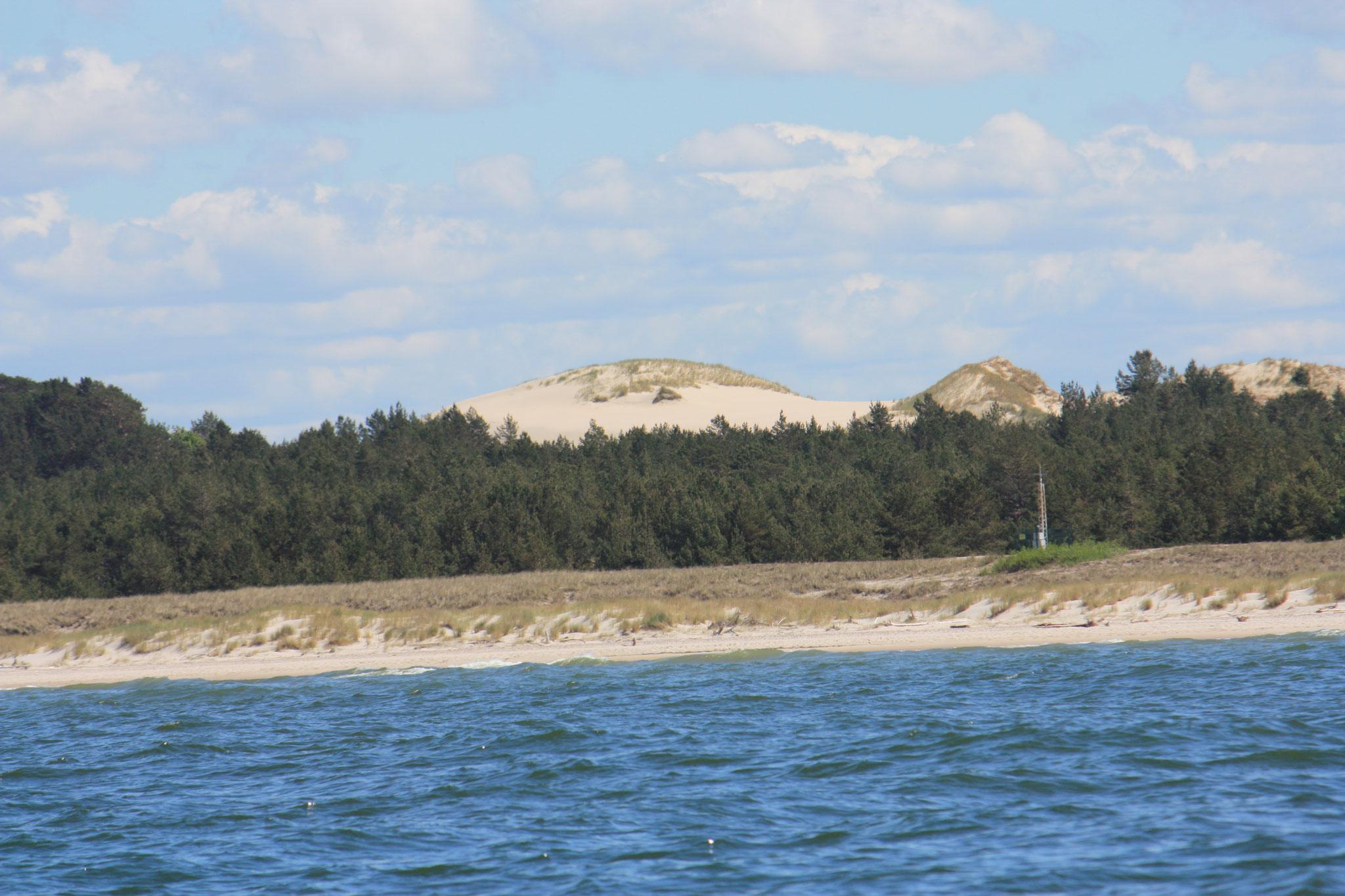 Wanderdünen, was für Sandhaufen