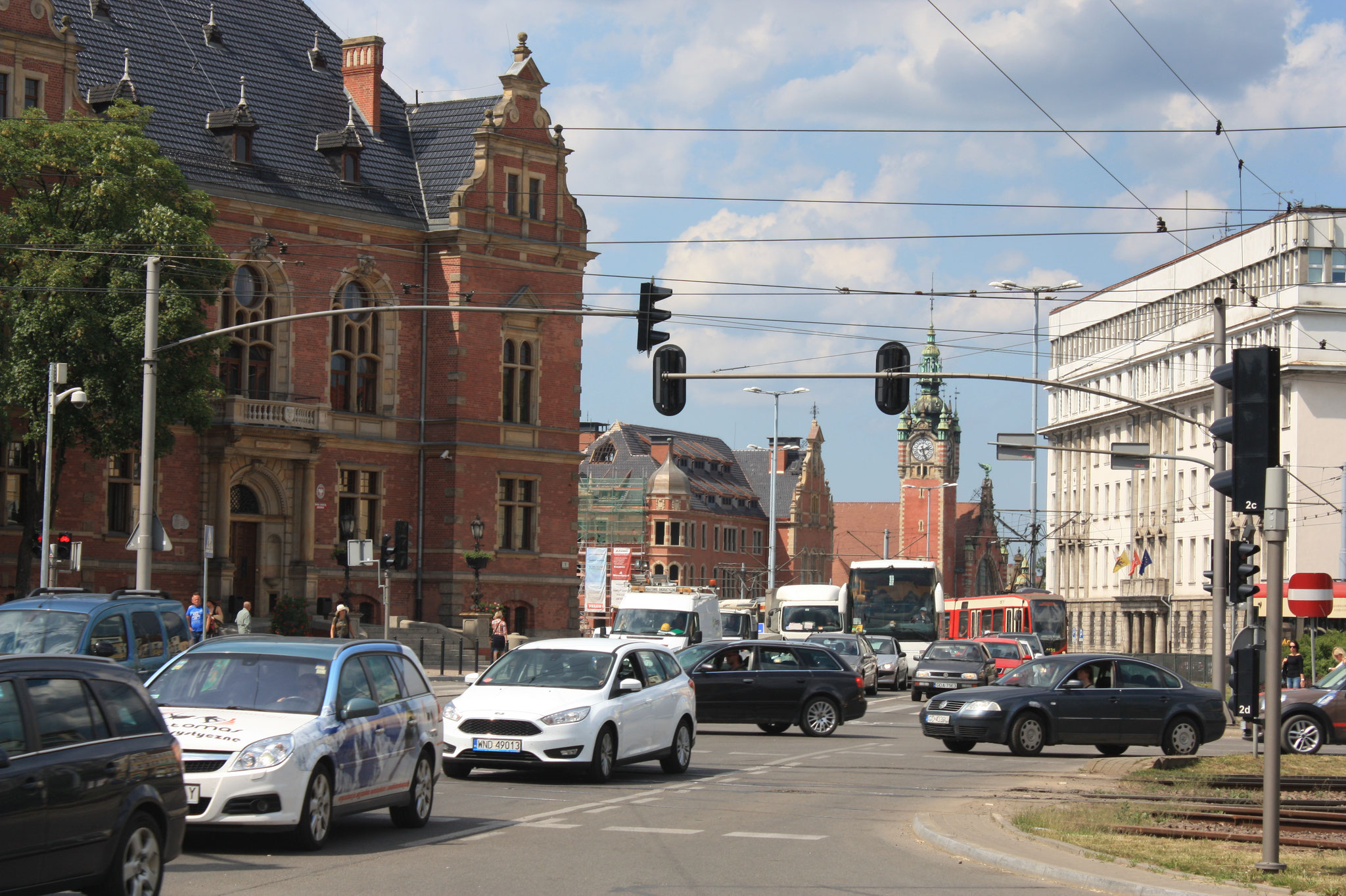 Hauptbahnhof von Gdansk
