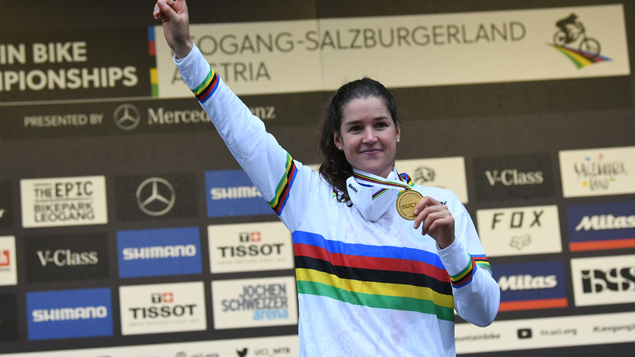 Camille Balanche - MTB Downhill - Weltmeisterin 2020