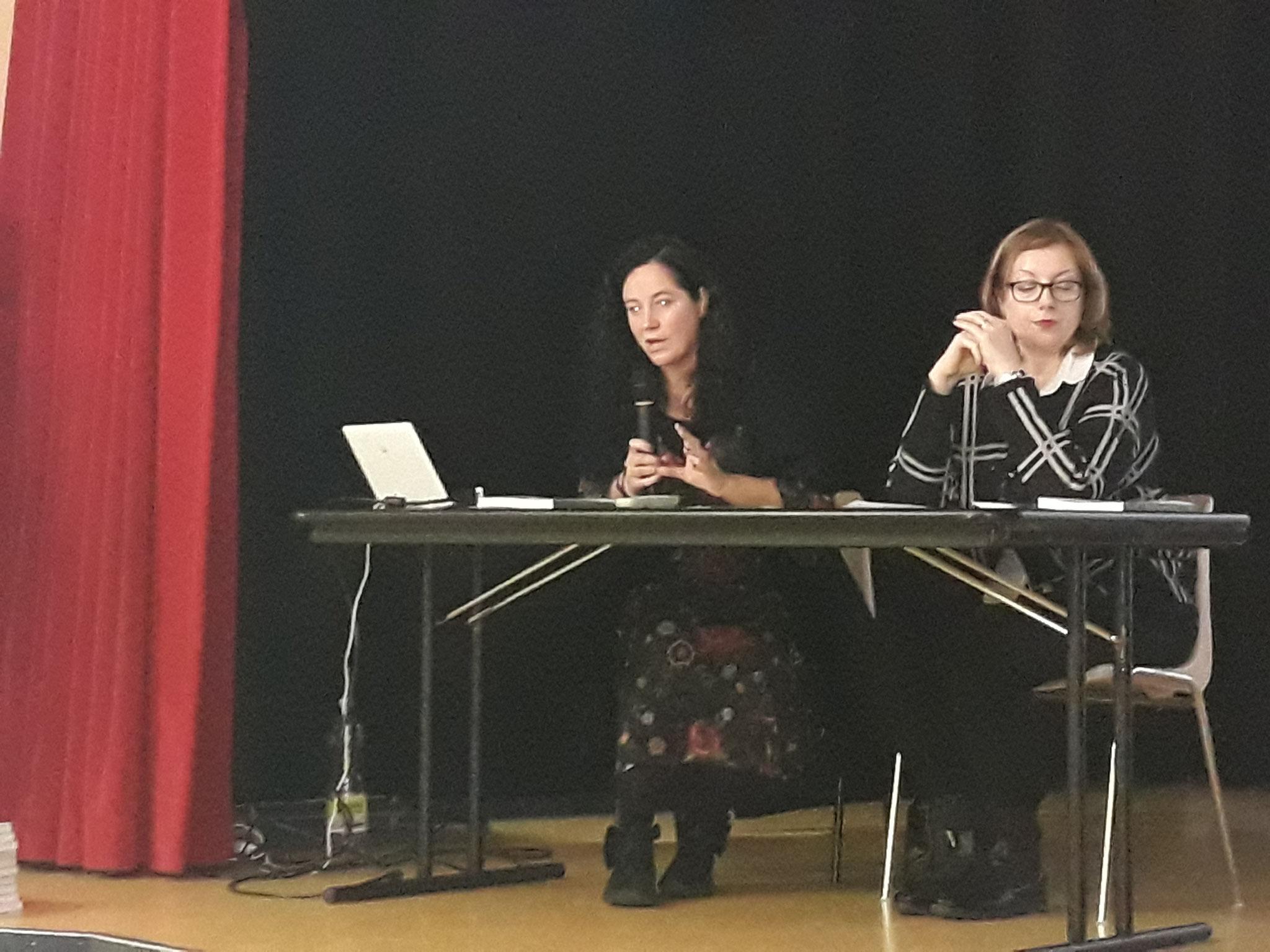Le relatrici dr.ssa Francesca Ciroi e dr.ssa Annalisa Schiffo