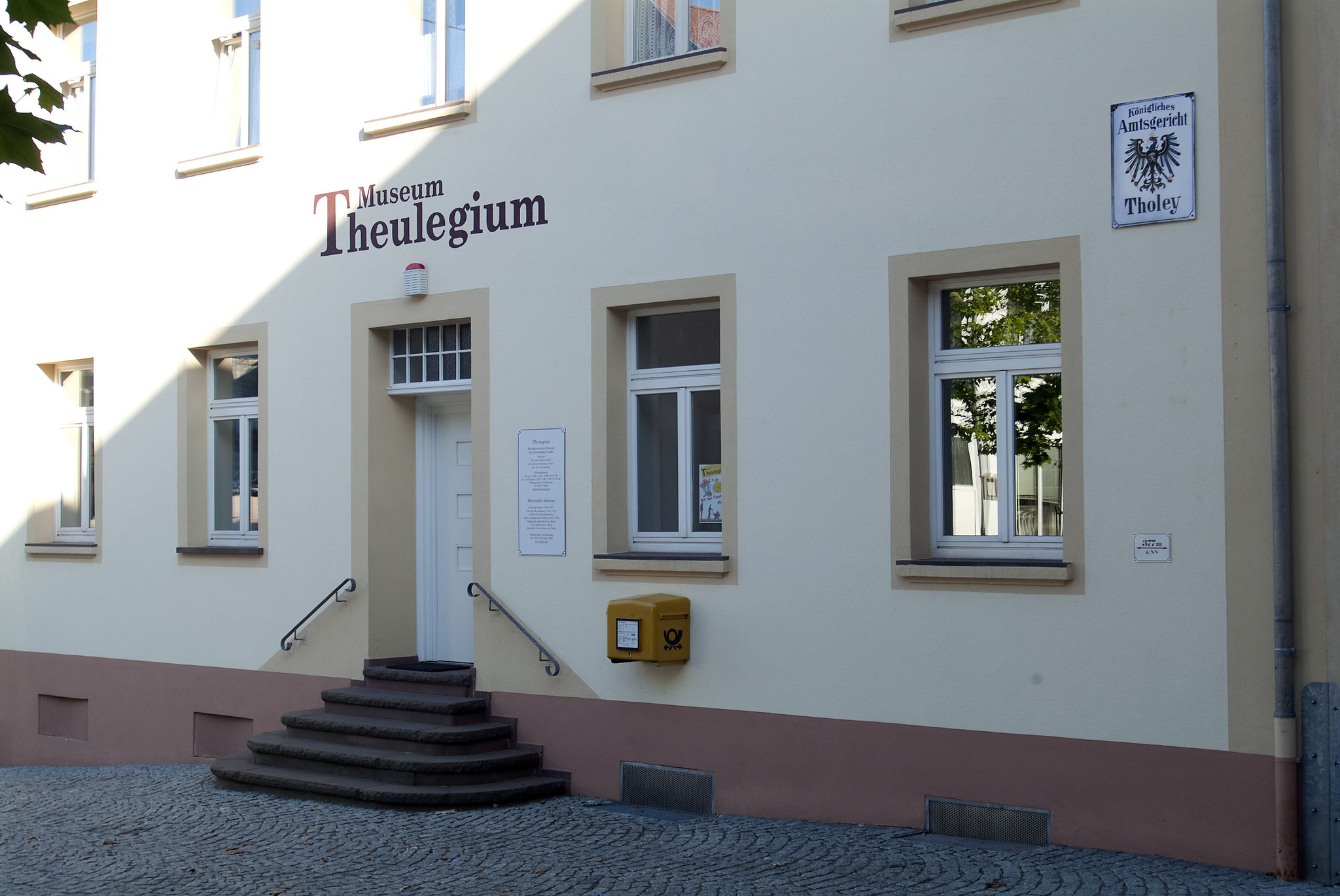 Das Museum Theulegium in Tholey